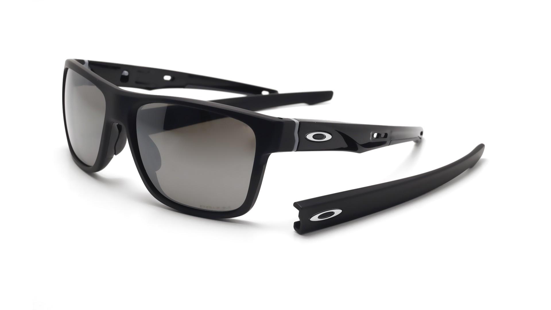 a122c227d97 Sunglasses Oakley Crossrange Black Mat Prizm OO9361 06 57-17 Medium  Polarized Flash