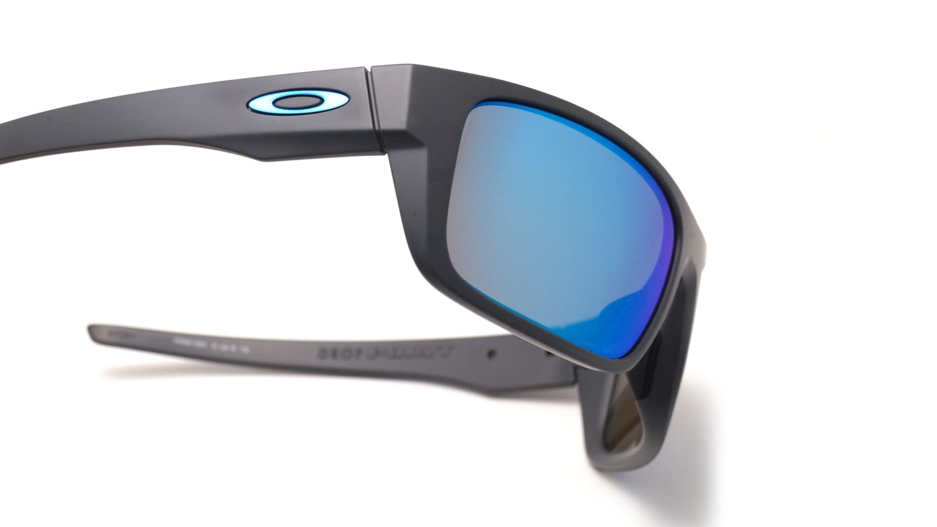 7842bccfe26f Sunglasses Oakley Drop Point Grey Mat Prizm OO9367 06 61-18 Large Polarized  Flash