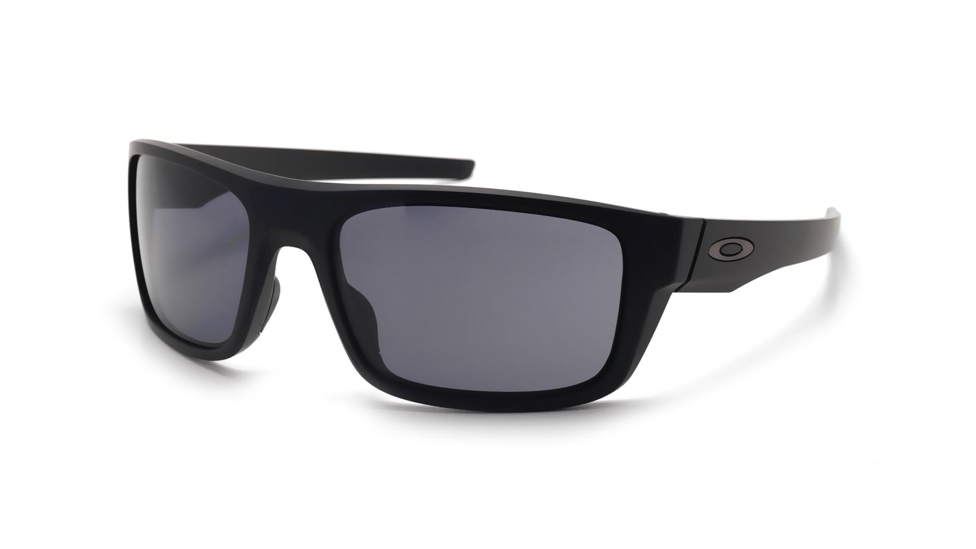 52dba1f83b12b Sunglasses Oakley Drop Point Black Mat OO9367 01 61-18 Large