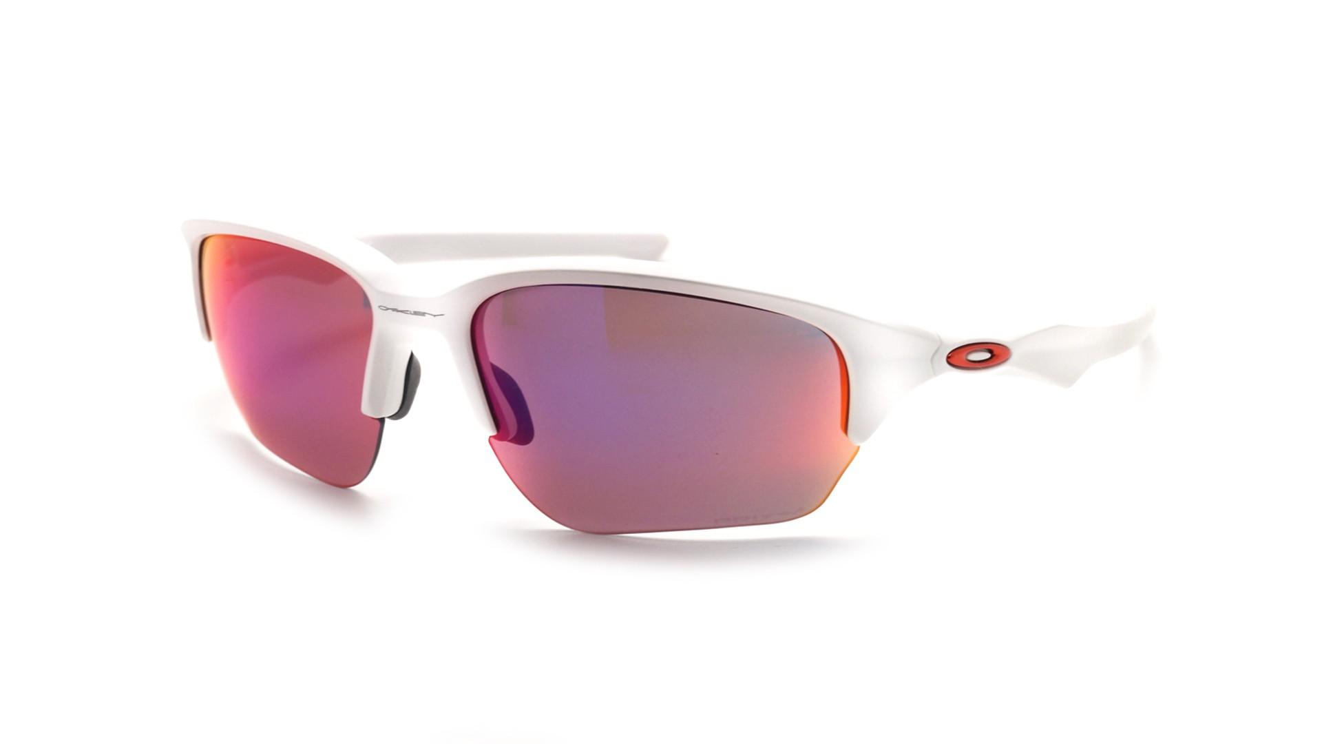 c24d5d28a88 Sunglasses Oakley Flak Beta White Prizm OO9363 05 64-8 Large Flash