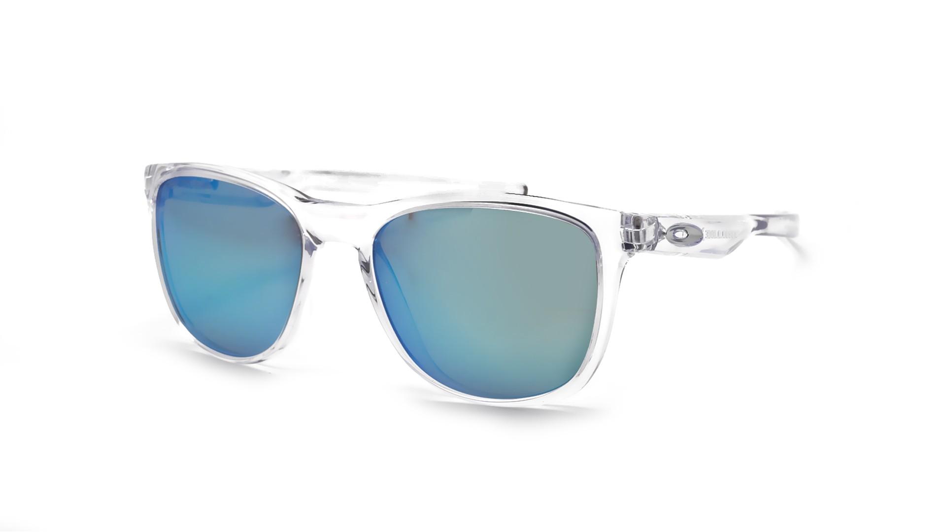 44de952dc9 Sunglasses Oakley Trillbe X Clear 009340 05 52-18 Medium Polarized Flash