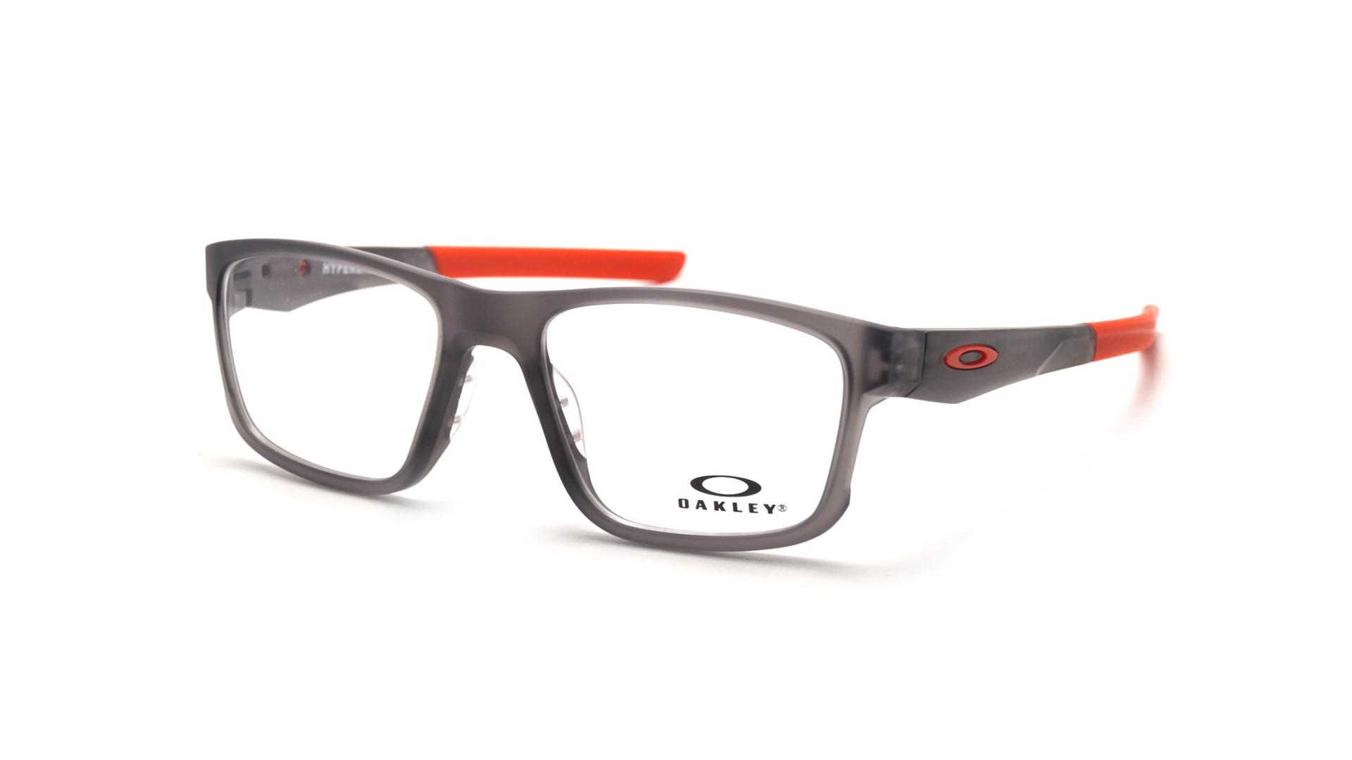 d96eecb308 Eyeglasses Oakley Hyperlink Grey Matte OX8078 05 52-18 Medium