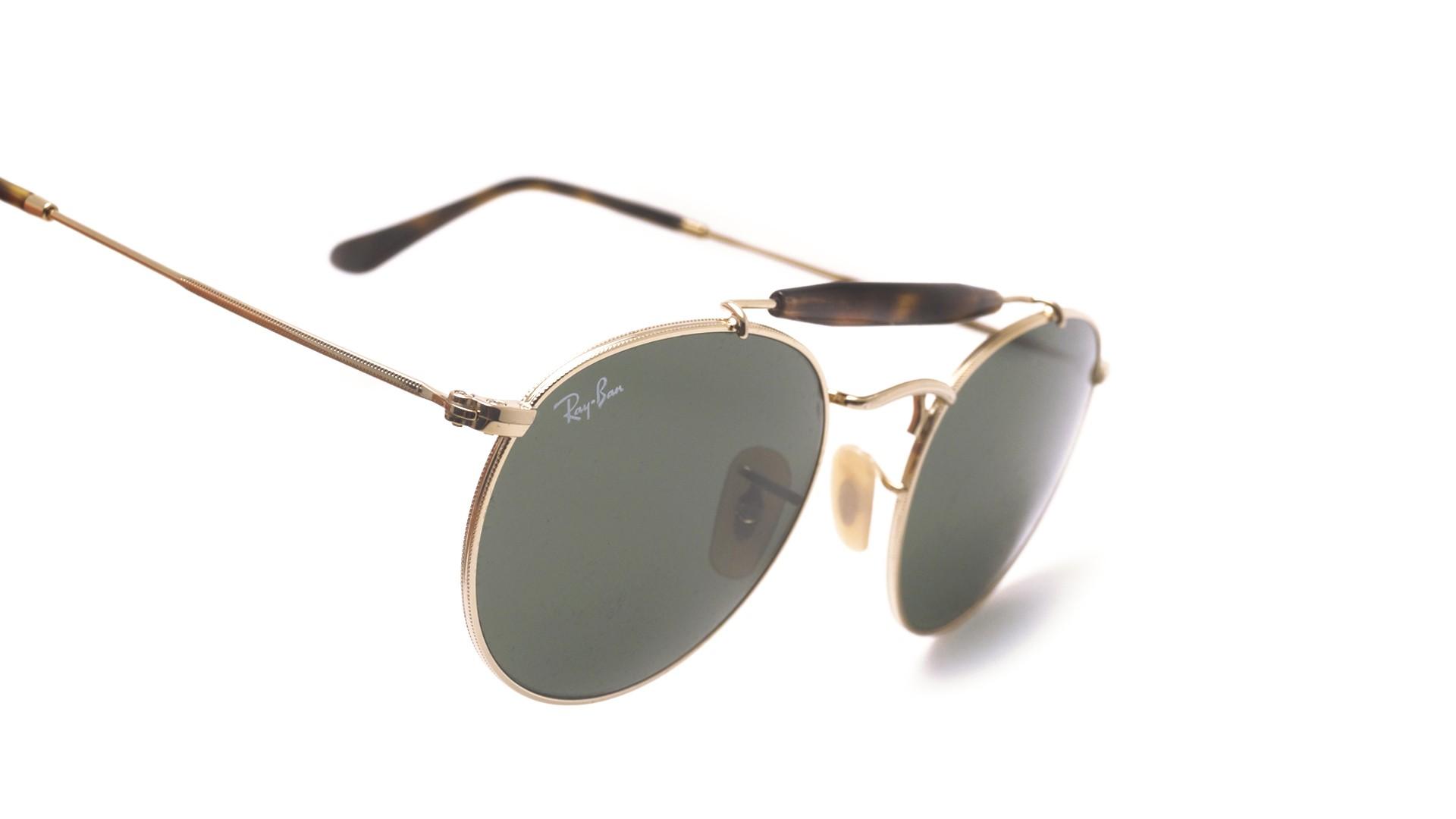 7675eb9c7e Sunglasses Ray-Ban RB3747 001 50-21 Gold G-15 Medium