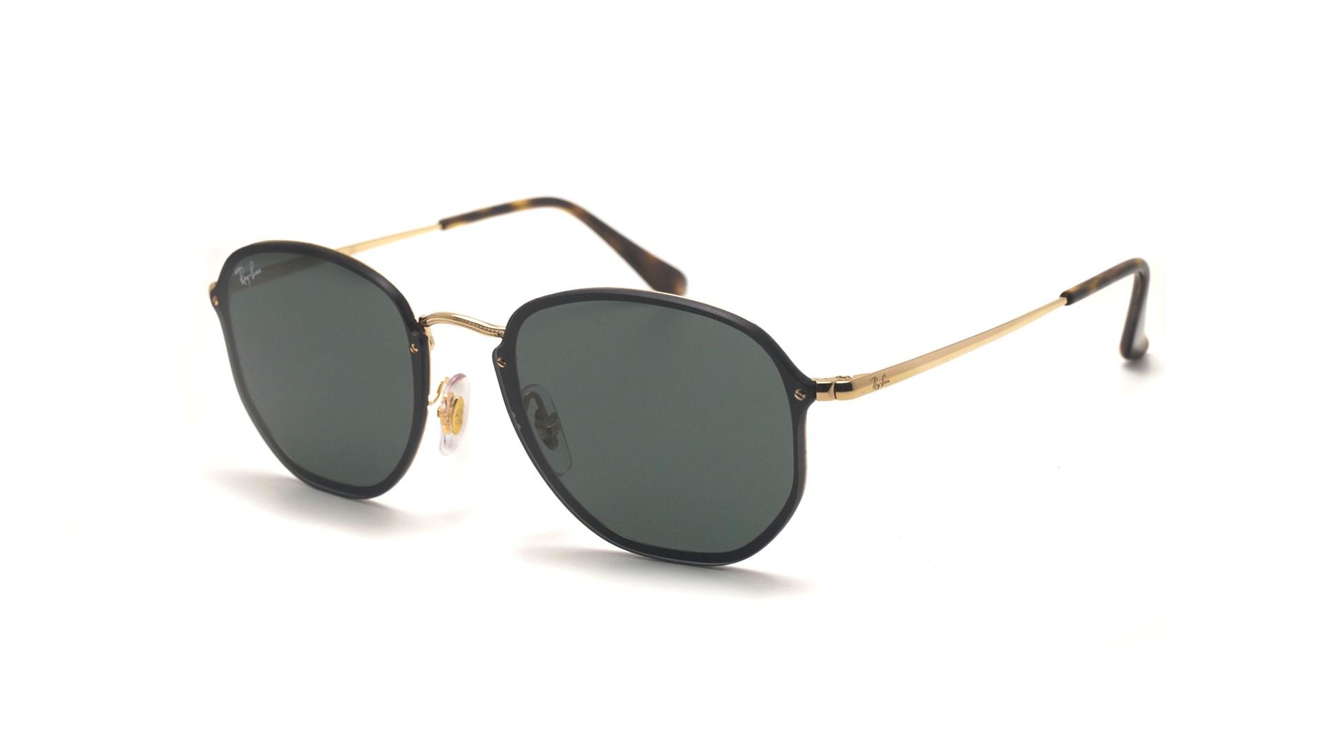704547f062 Sunglasses Ray-Ban Hexagonal Blaze Gold RB3579N 001 71 58-15 Large