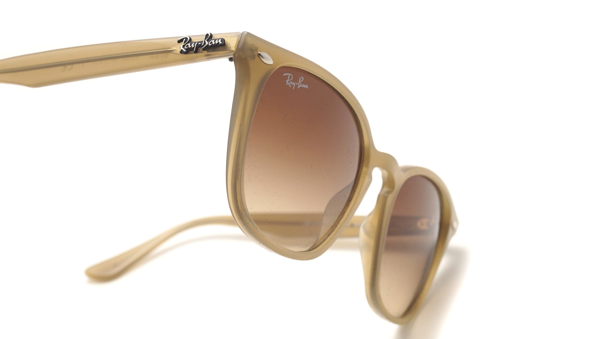 24685aef3ab Sunglasses Ray-Ban RB4258 616613 50-20 Beige Medium Gradient