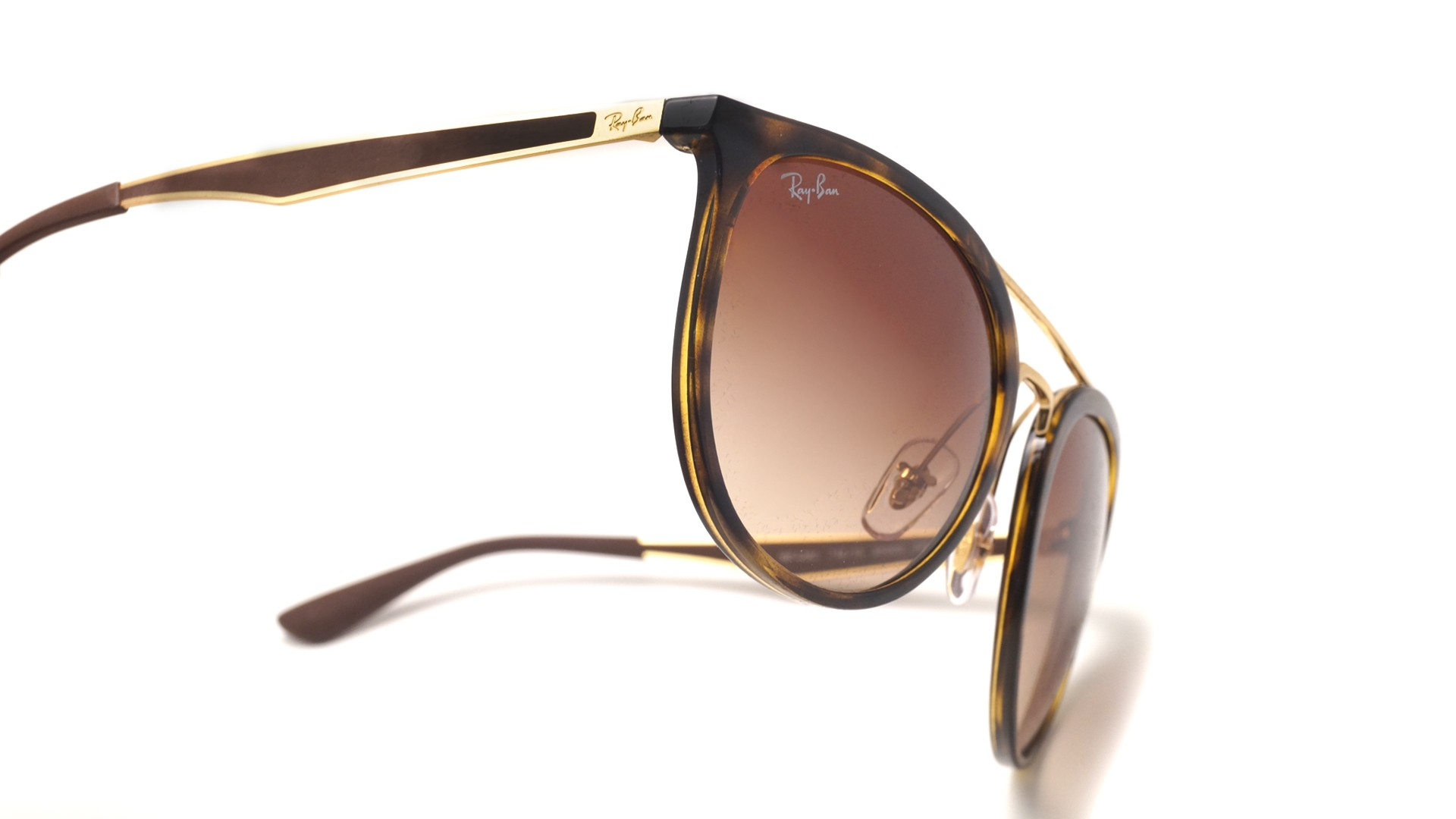 78b53a6e7b Sunglasses Ray-Ban RB4285 710 13 55-20 Tortoise Large Gradient
