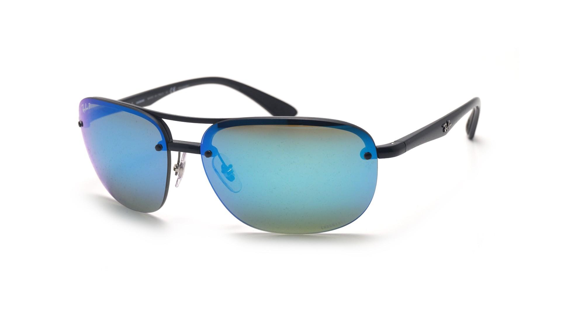 262da9df9c Sunglasses Ray-Ban RB4275CH 601 A1 63-15 Black Chromance Large Polarized  Mirror