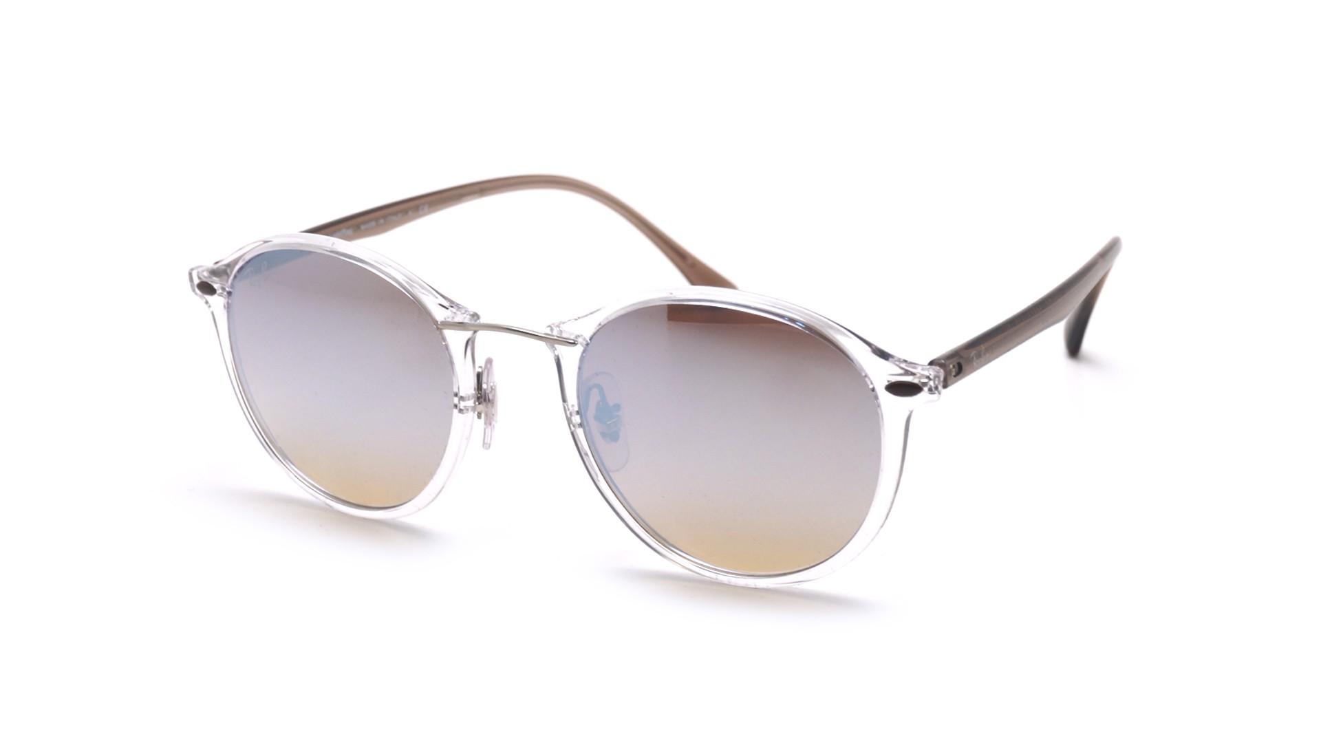 ba19e63d8 Sunglasses Ray-Ban Tech Light Ray Clear RB4242 6290B8 49-21 Medium Mirror
