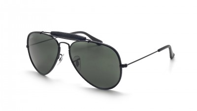 ea24d264a56 Sunglasses Ray-Ban Outdoorsman Craft Black G-15 RB3422Q 9040 58-14 Large