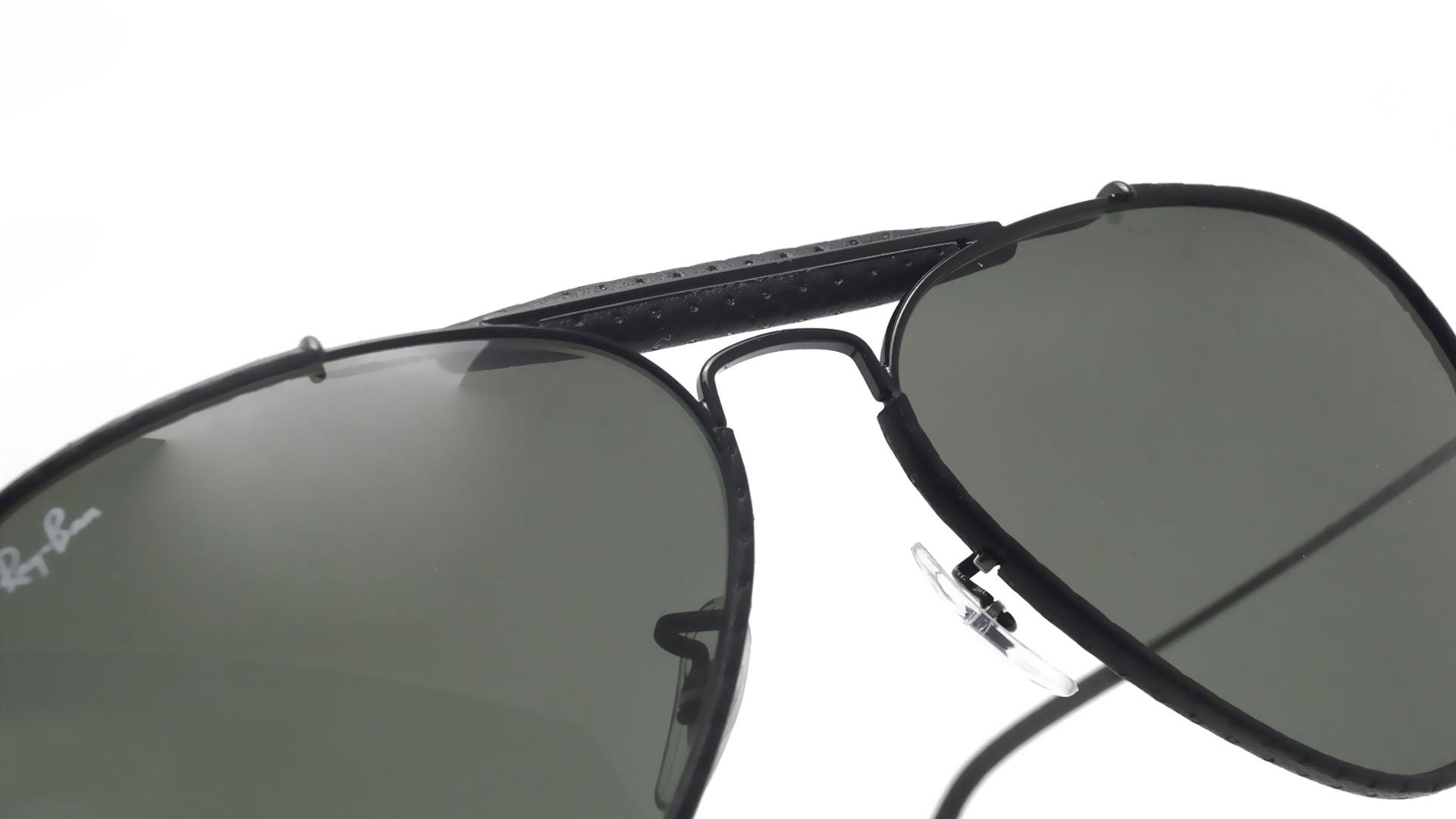 5fa2bccd37e Sunglasses Ray-Ban Outdoorsman Craft Black G-15 RB3422Q 9040 58-14 Large