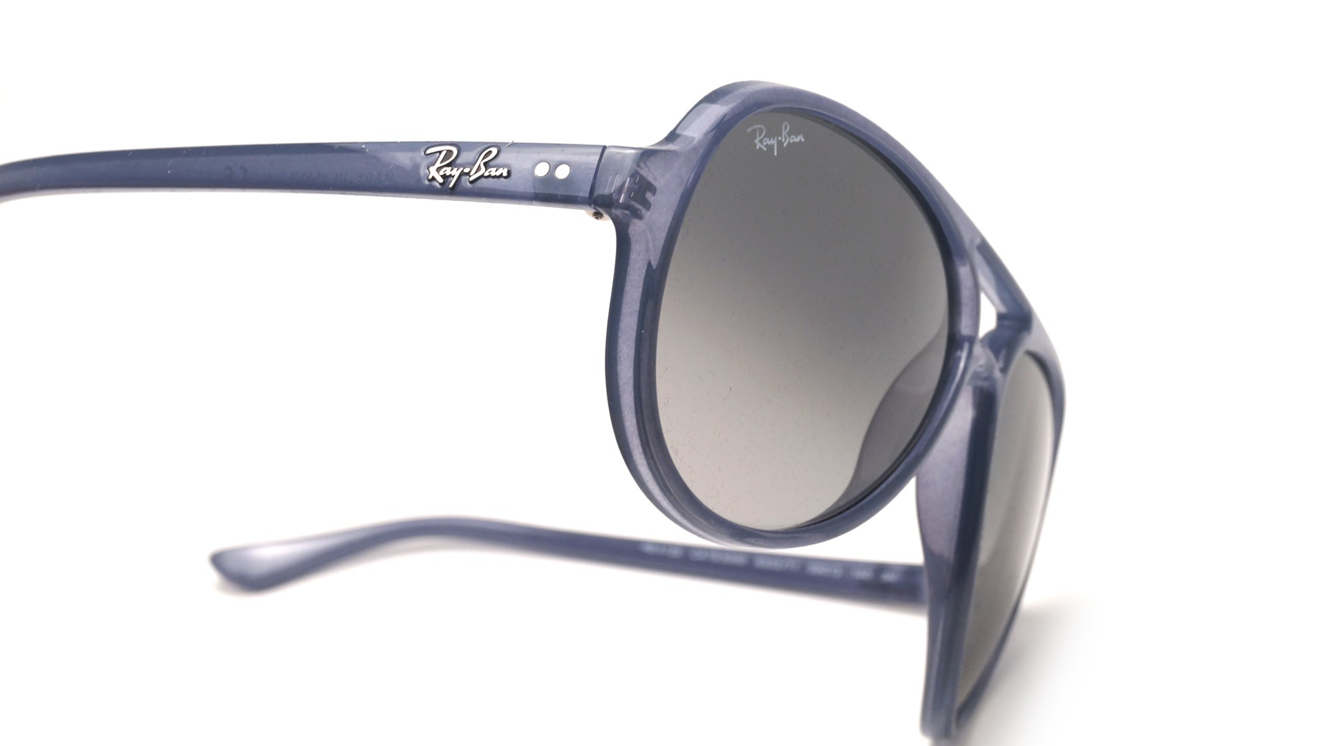 19622128fce Sunglasses Ray-Ban Cats 5000 Blue RB4125 630371 59-13 Large Gradient
