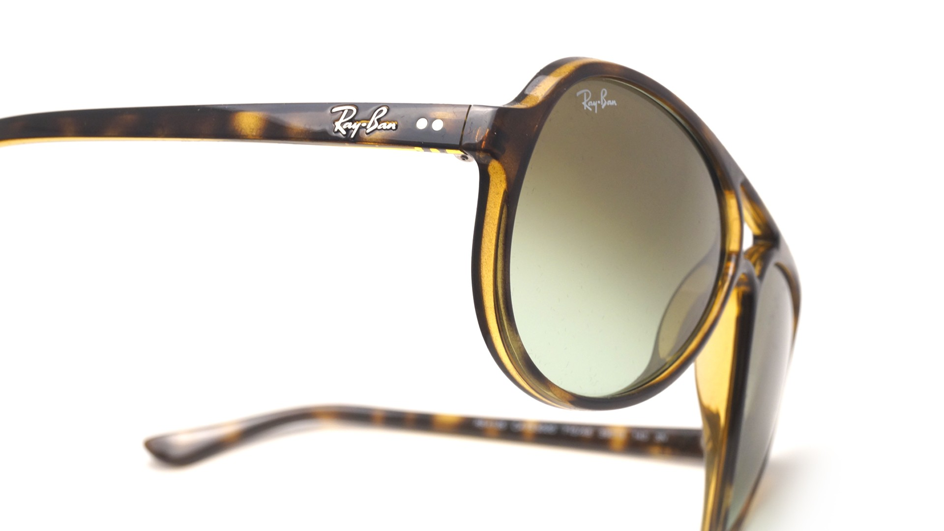 3608ca956b4e9 Sunglasses Ray-Ban Cats 5000 Tortoise RB4125 710 A6 59-13 Large Gradient