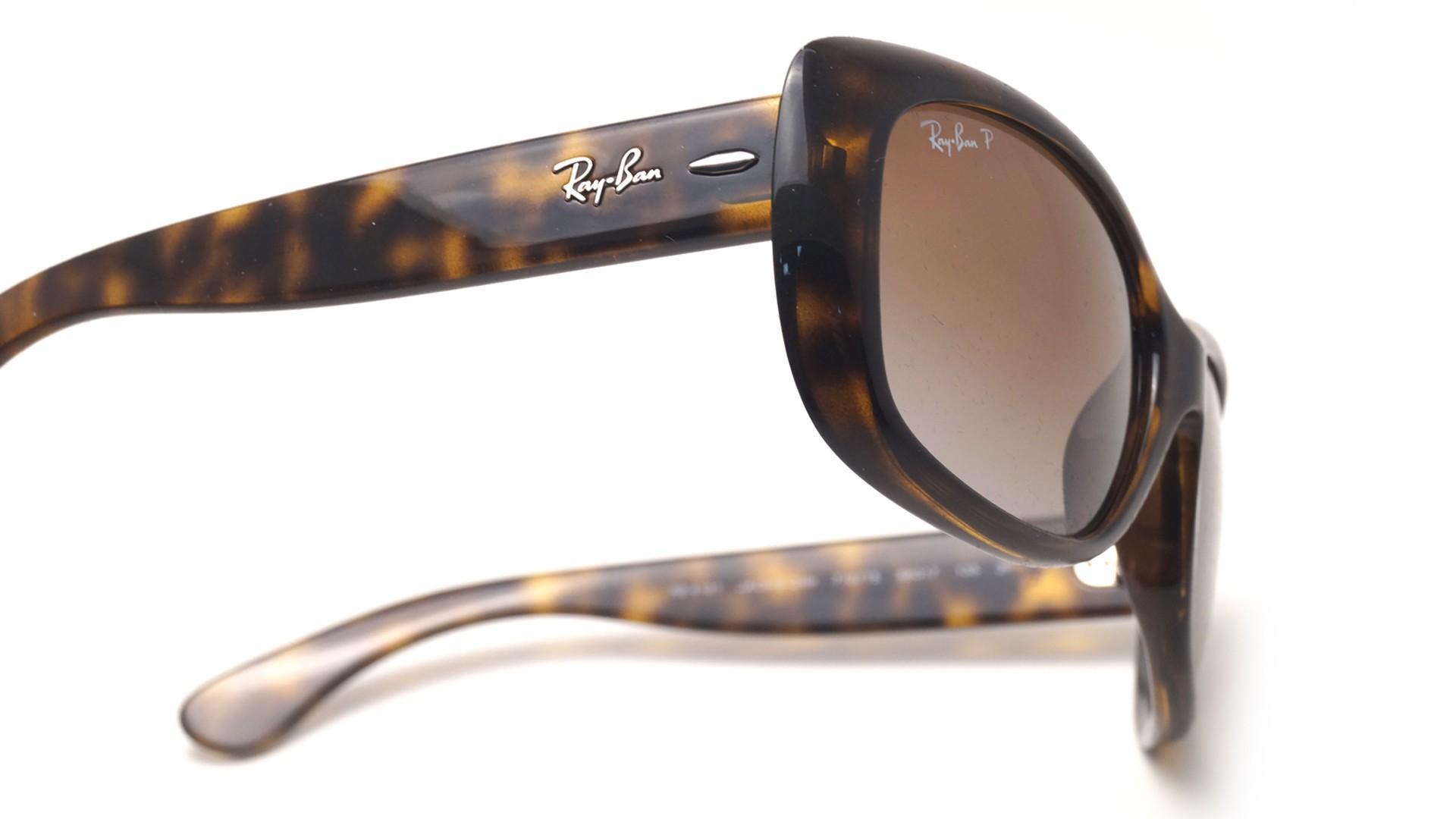fa702231b01 Sunglasses Ray-Ban Jackie Ohh Tortoise RB4101 710 T5 58-17 Large Polarized  Gradient