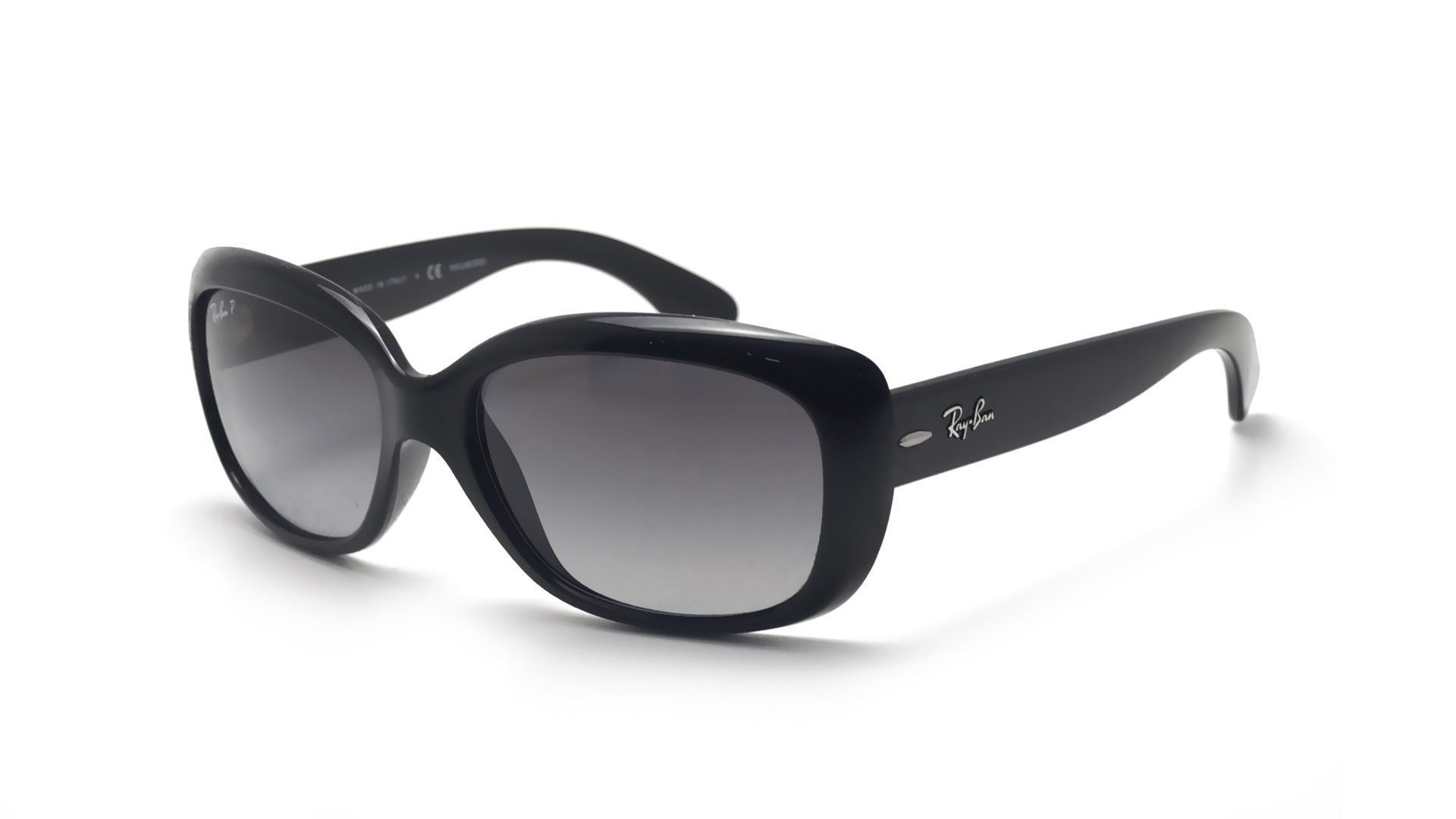 d0ad269f9bb Sunglasses Ray-Ban Jackie Ohh Black RB4101 601 T3 58-17 Large Polarized  Gradient