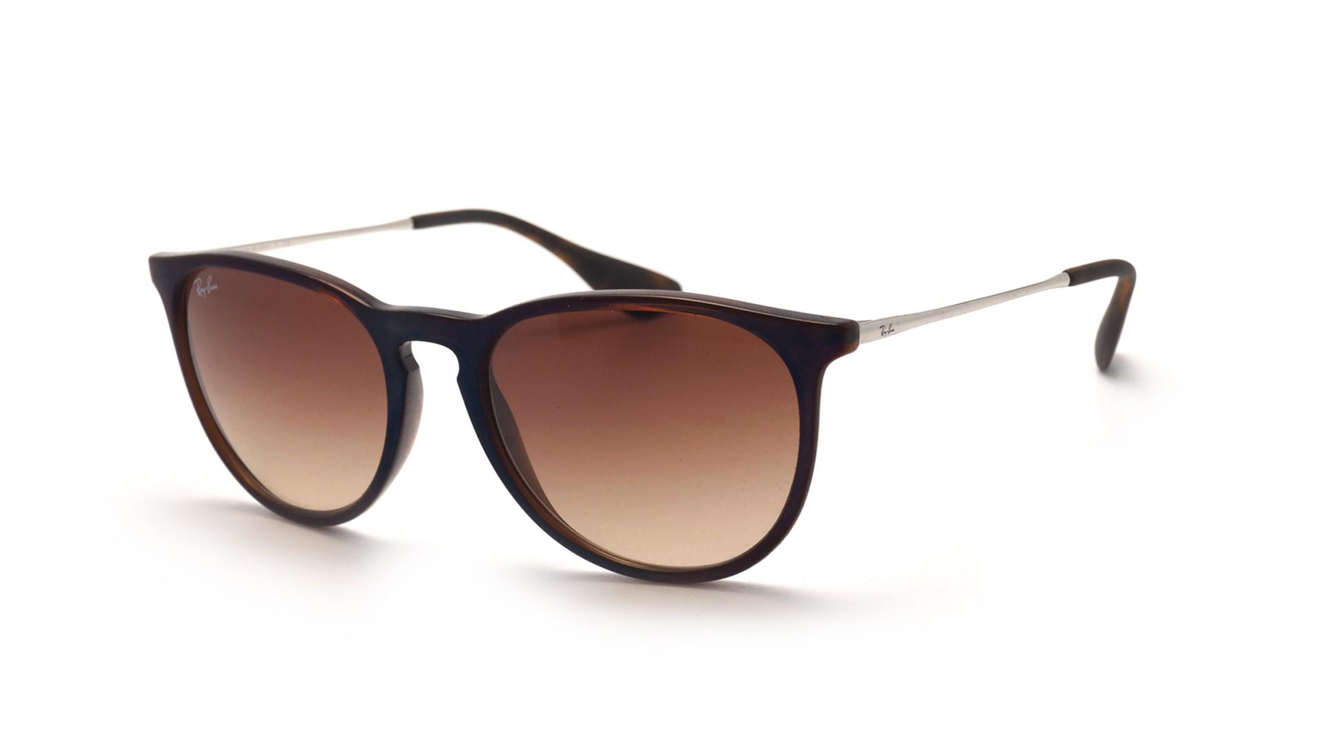 84832dd7612e8 Sunglasses Ray-Ban Erika Brown RB4171 6315 13 54-18 Medium Gradient