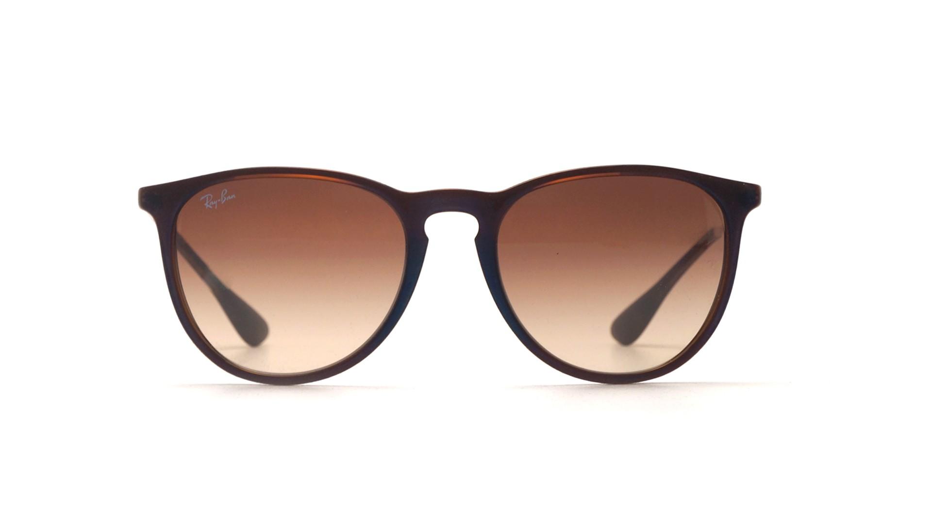 3a25b2ebcd7113 Sunglasses Ray-Ban Erika Brown RB4171 6315 13 54-18 Medium Gradient
