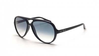 7f5438e0d40 Ray-Ban Cats 5000 Black RB4125 601 3F 59-13 ...