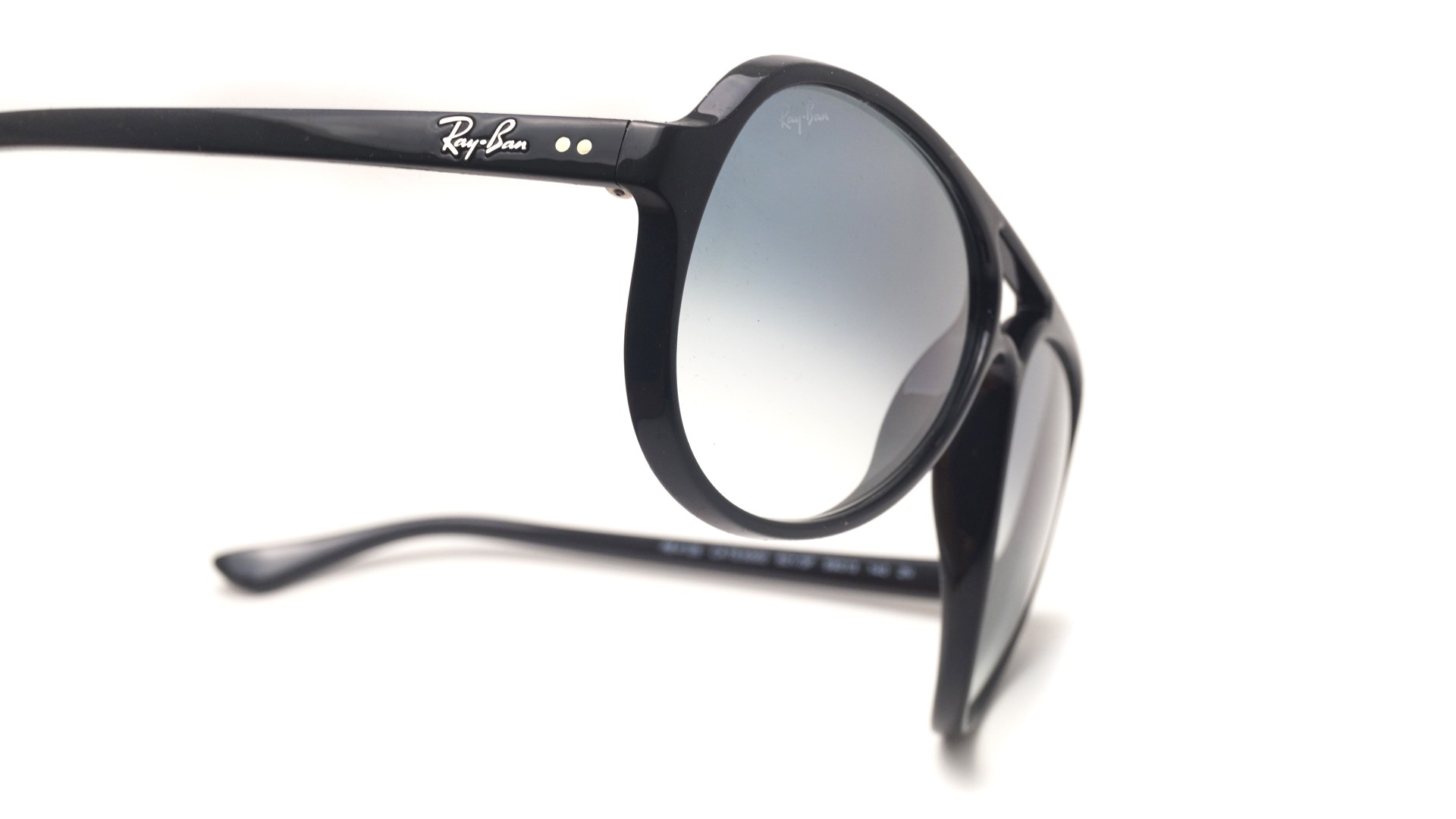 2fa6a9457193b Sunglasses Ray-Ban Cats 5000 Black RB4125 601 3F 59-13 Large Gradient