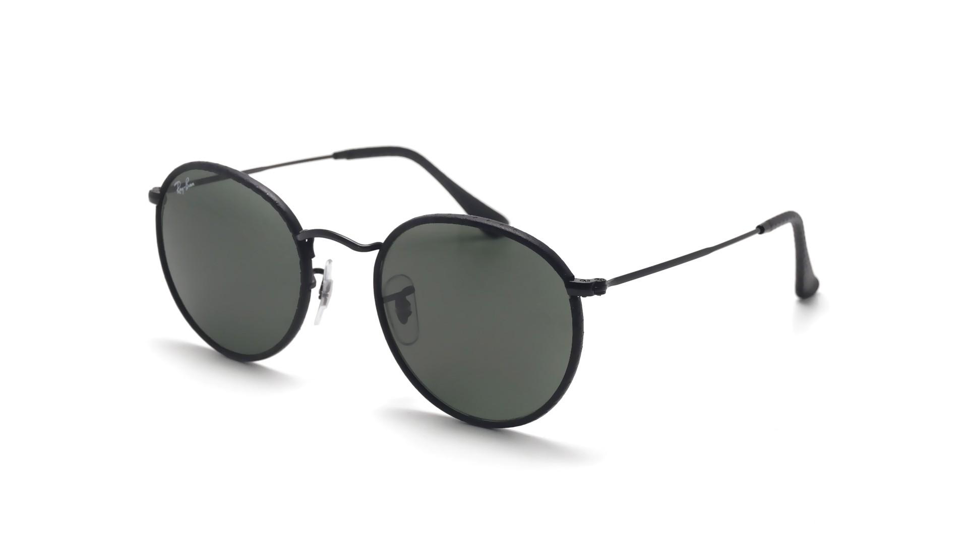 26d555fd386 Sunglasses Ray-Ban Round Craft Black RB3475Q 9040 50-21 Medium