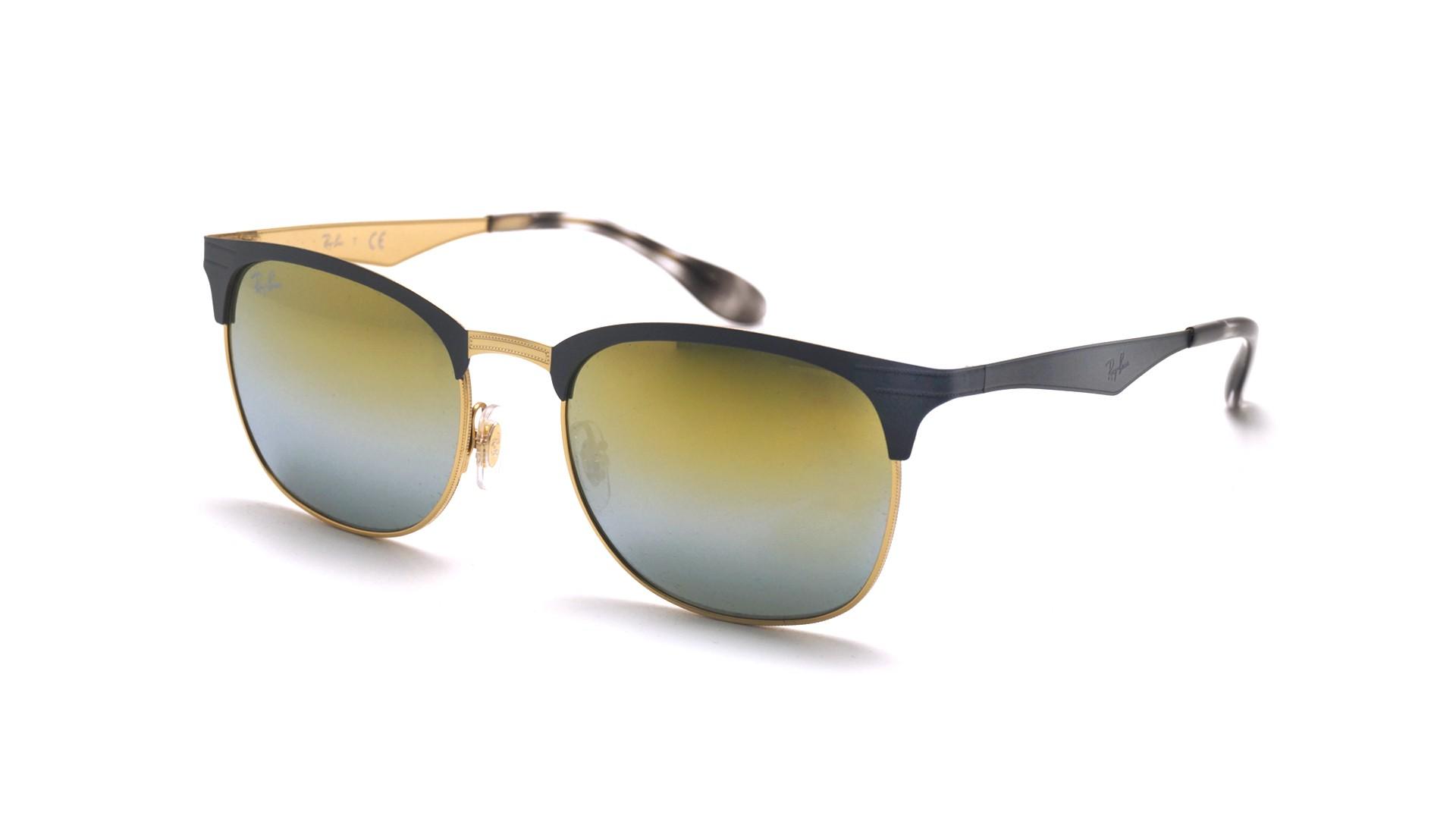 bb66f97570 Sunglasses Ray-Ban RB3538 9007 A7 53-19 Grey Matte Medium Gradient Mirror