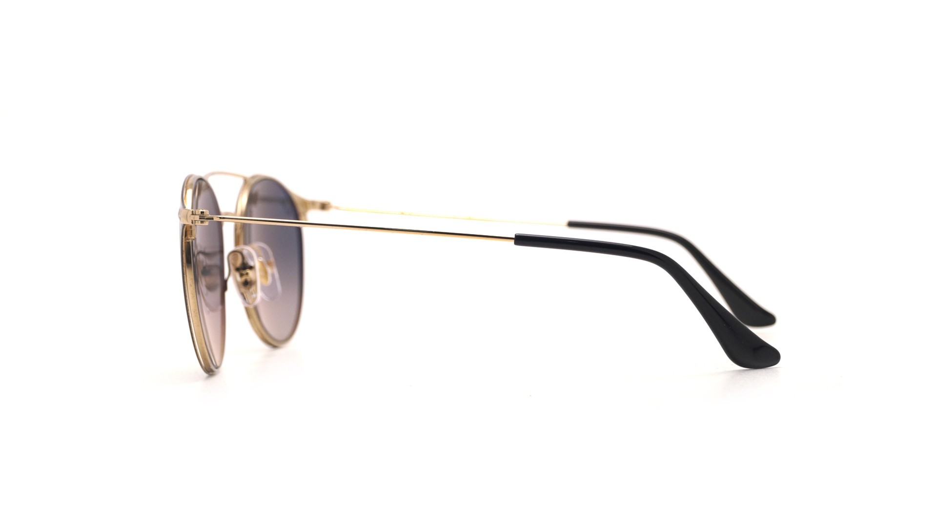 9ea4ed95cad3fc Sunglasses Ray-Ban RB3546 187 71 52-20 Black Medium Gradient