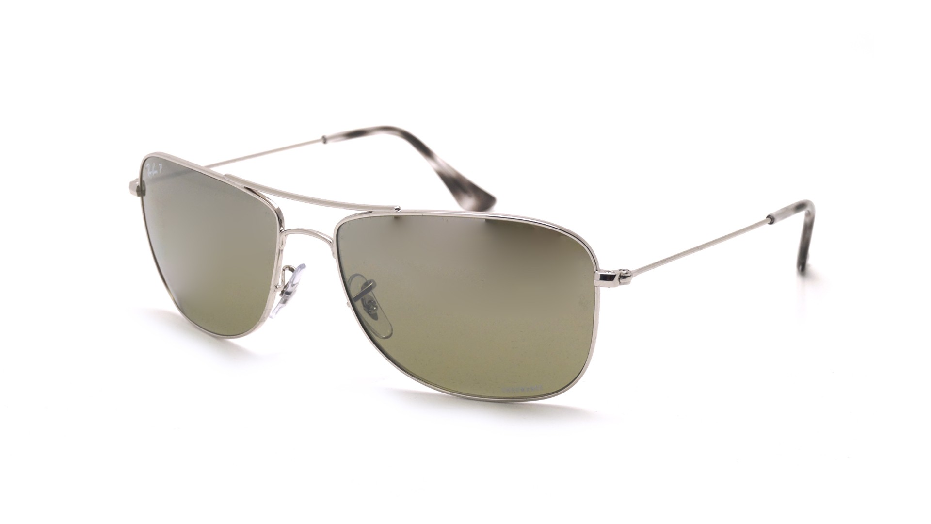 dec363f49c Sunglasses Ray-Ban RB3543 003 5J 59-16 Silver Chromance Medium Polarized  Gradient Mirror
