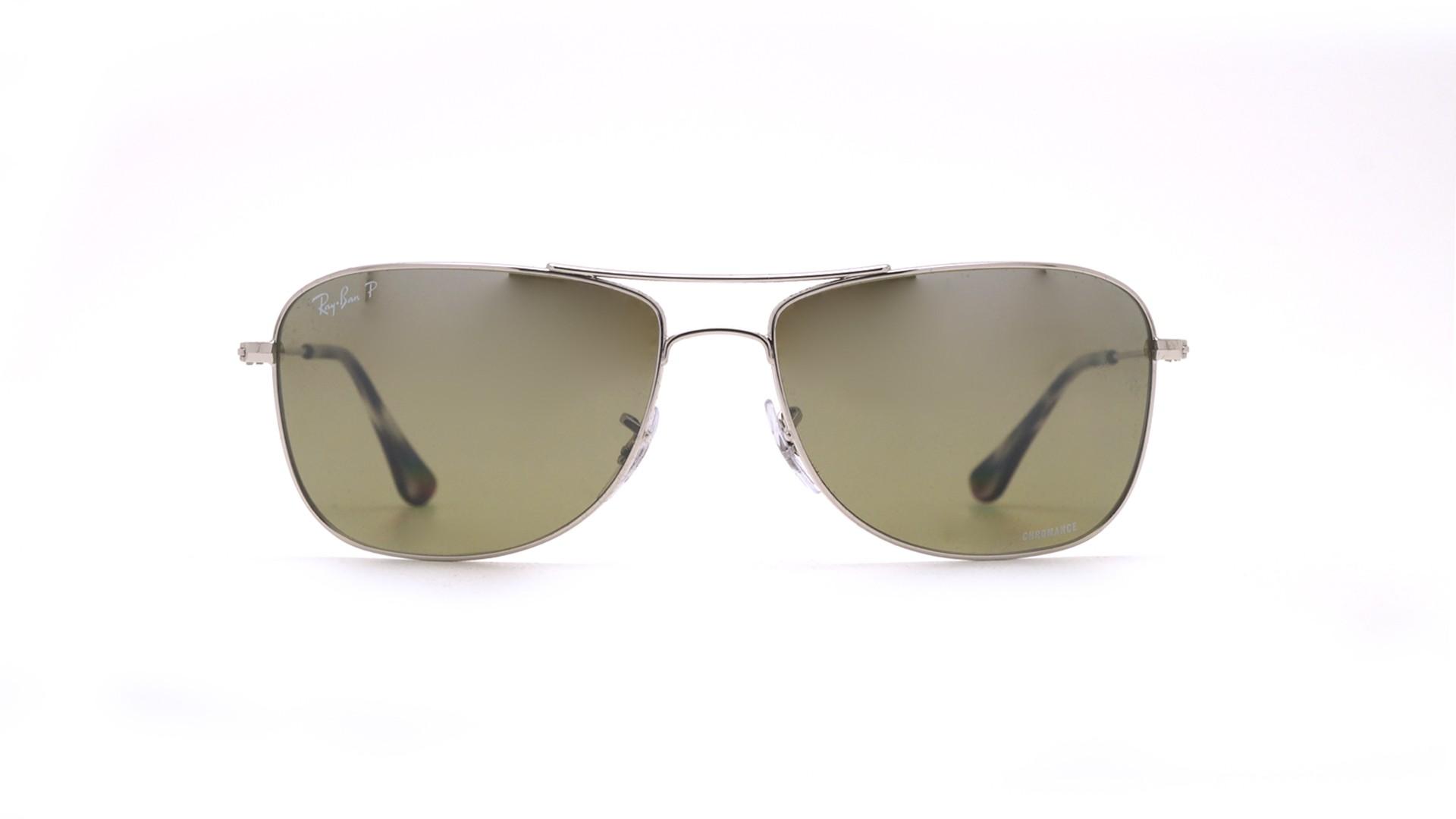 a9355101217cd Sunglasses Ray-Ban RB3543 003 5J 59-16 Silver Chromance Medium Polarized  Gradient Mirror