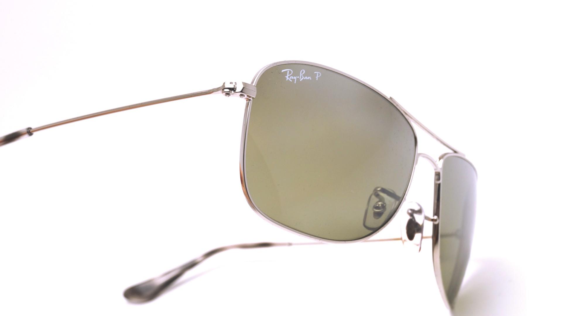 0c1869c3795 Sunglasses Ray-Ban RB3543 003 5J 59-16 Silver Chromance Medium Polarized  Gradient Mirror