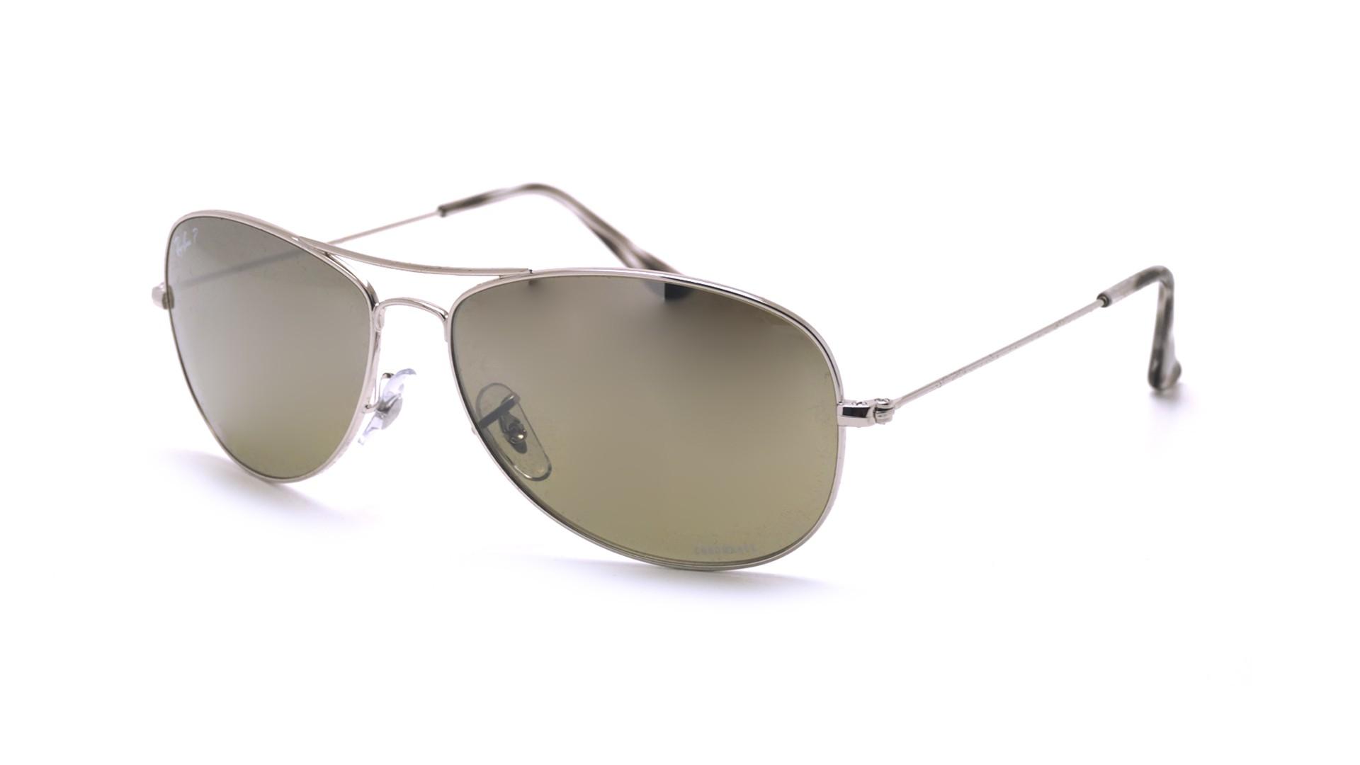 4e6bb52cf95 Sunglasses Ray-Ban RB3562 003 5J 59-14 Silver Chromance Medium Polarized  Gradient Mirror