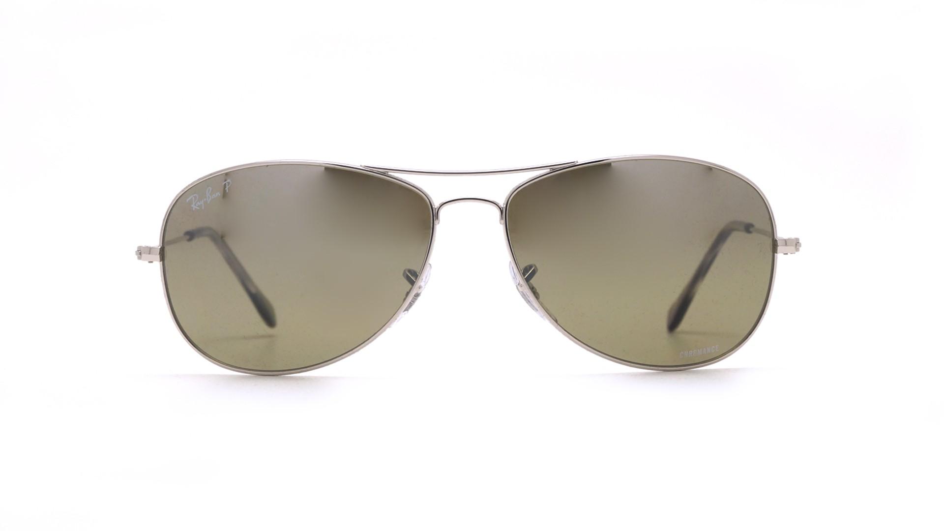 e4391c0cdaf Sunglasses Ray-Ban RB3562 003 5J 59-14 Silver Chromance Medium Polarized  Gradient Mirror