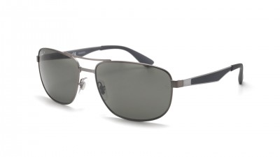 85941c711d6 Ray-Ban RB3528 029 9A 61-17 Silver Polarized ...