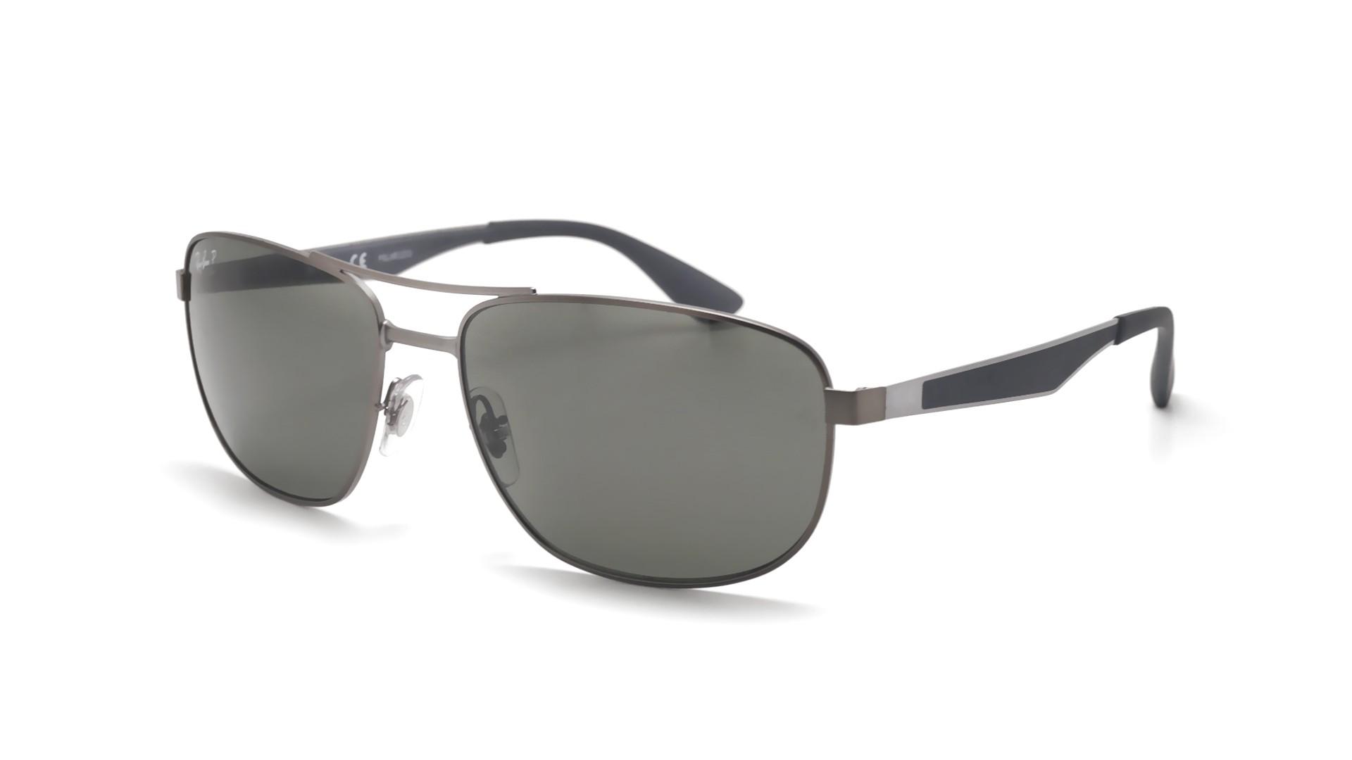 e5f845591ab39 Sunglasses Ray-Ban RB3528 029 9A 61-17 Silver Large Polarized