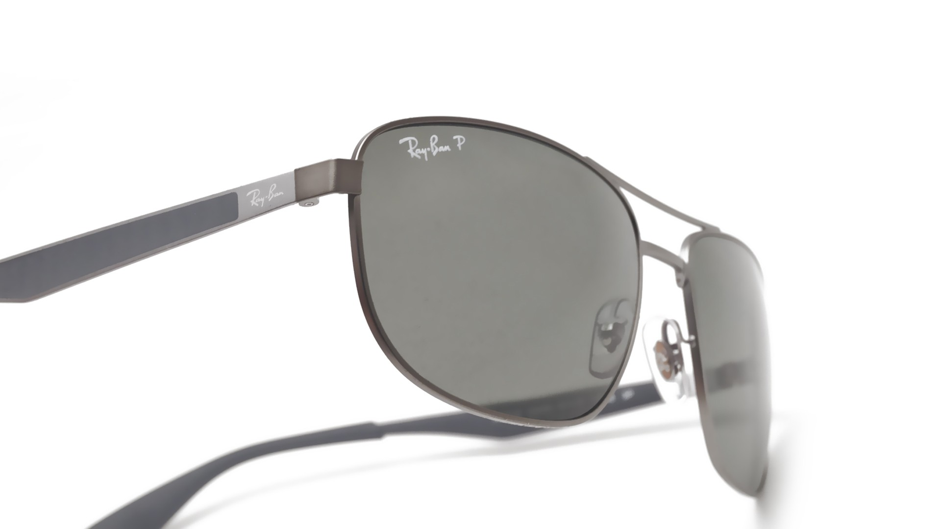 1c73046390b Sunglasses Ray-Ban RB3528 029 9A 61-17 Silver Large Polarized