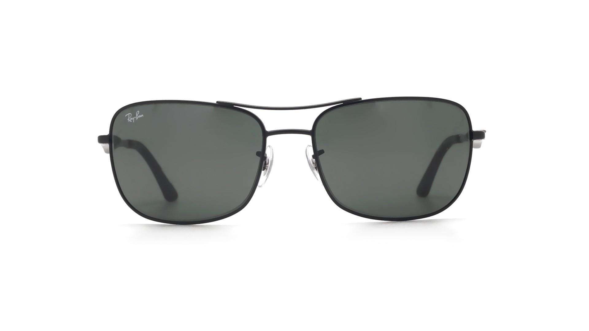 9e747ebf4b687 Sunglasses Ray-Ban RB3515 006 71 61-17 Black Matte Large