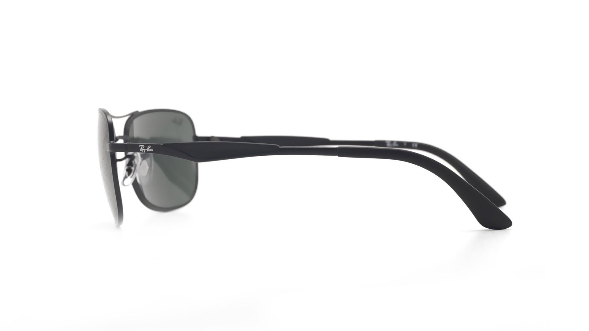 0b4343bc4c Sunglasses Ray-Ban RB3515 006 71 61-17 Black Matte Large