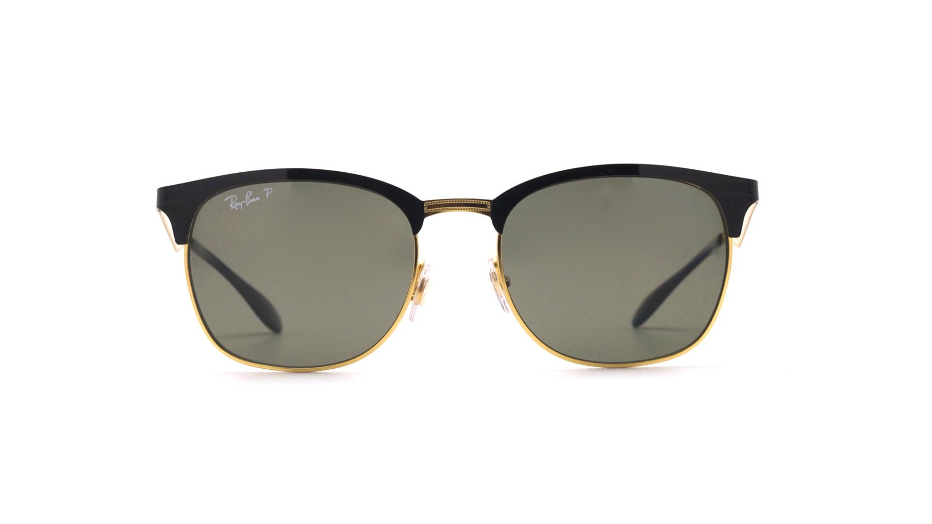 ba3e409096 Sunglasses Ray-Ban RB3538 187 9A 53-19 Black Medium Polarized