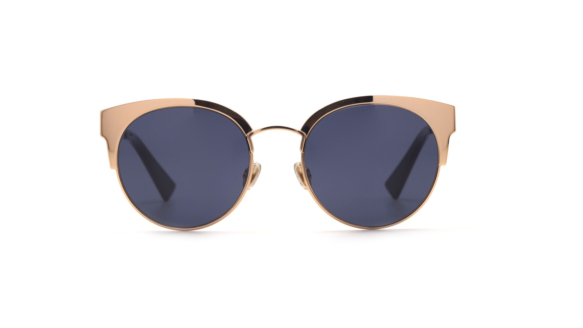 fc78a3e441 Sunglasses Dior Diorama Mini Gold DIORAMAMINI DDBKU 50-19 Medium