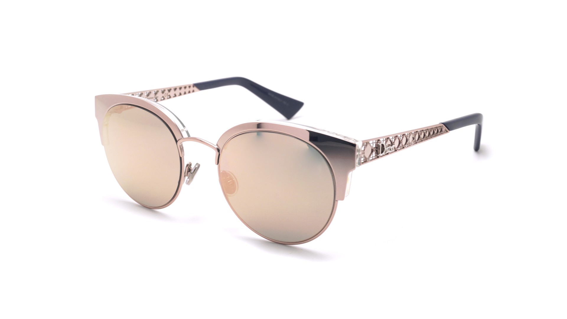 13037b6ca5 Sunglasses Dior Diorama Mini Gold DIORAMAMINI S8R0J 50-19 Medium Mirror