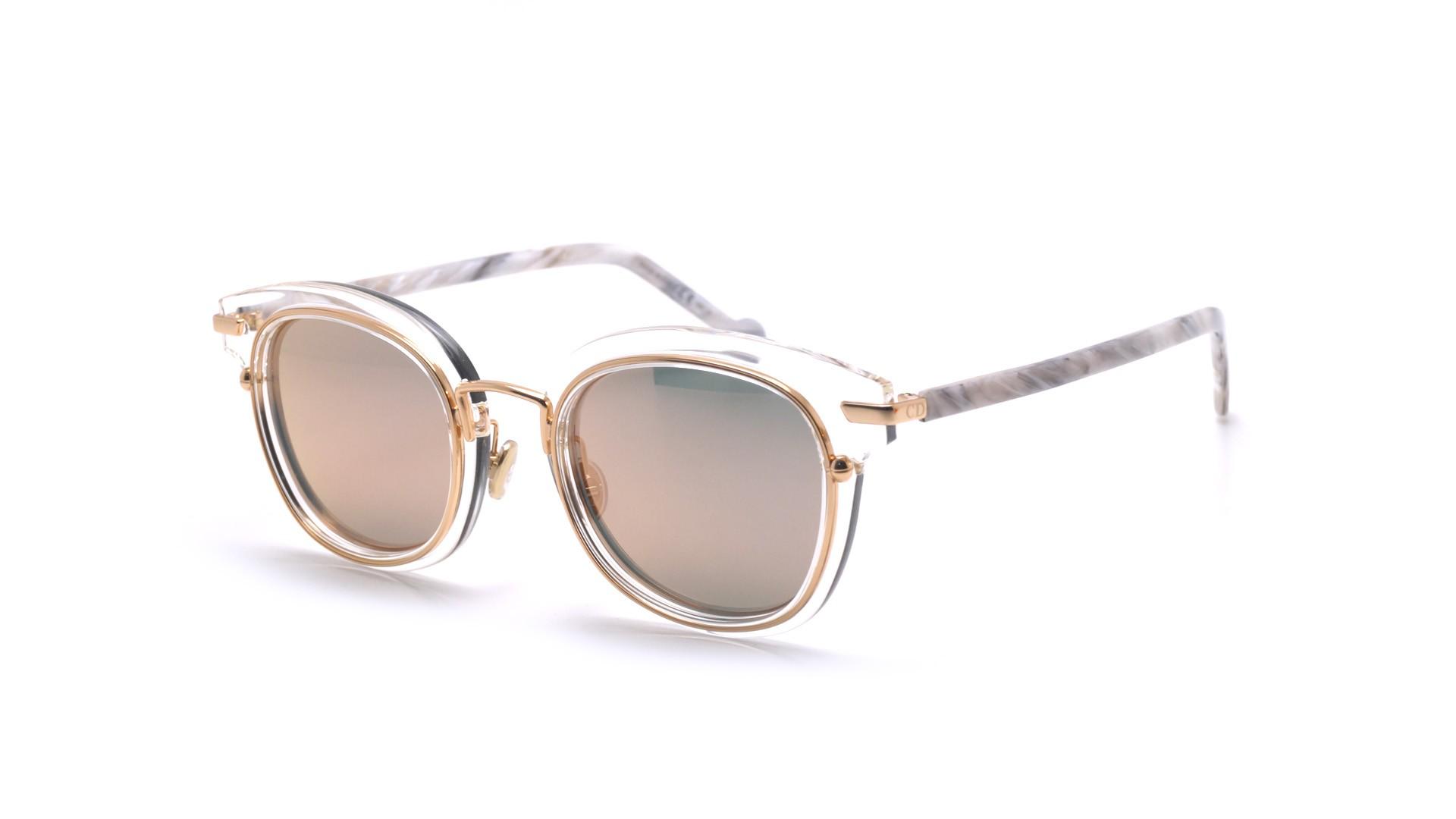 82e3d605b5 Sunglasses Dior Origins 2 Clear DIORORIGINS2 9000J 48-23 Medium Mirror
