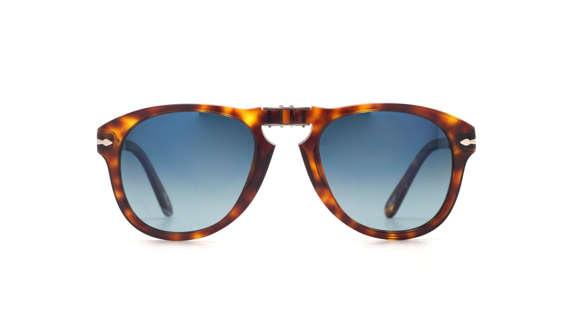 bd6ef2132cef Sunglasses Persol Steve Mcqueen Tortoise PO0714SM 24/S3 54-21 Folding  Polarized. Medium. 52-21