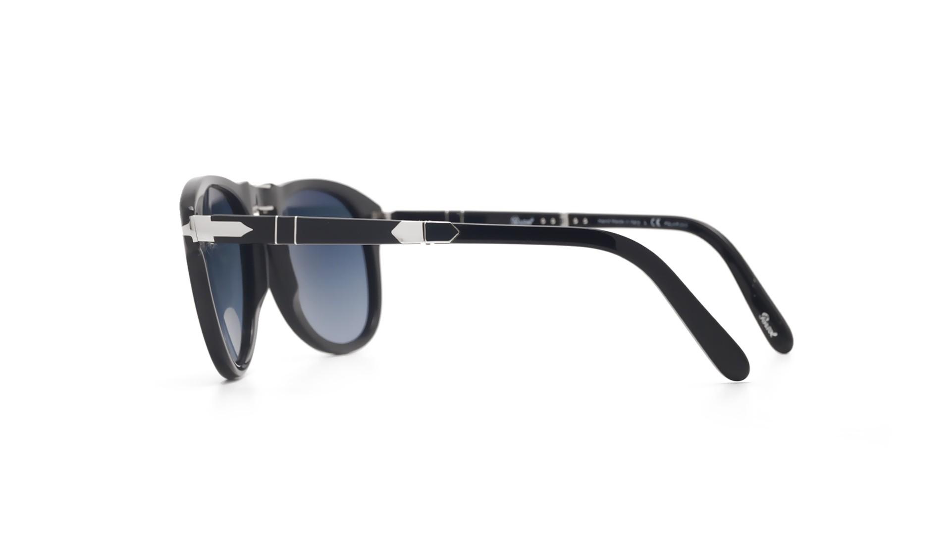 520e11d042 Sunglasses Persol Steve Mcqueen Black PO0714SM 95 S3 54-21 Large Folding  Polarized Gradient