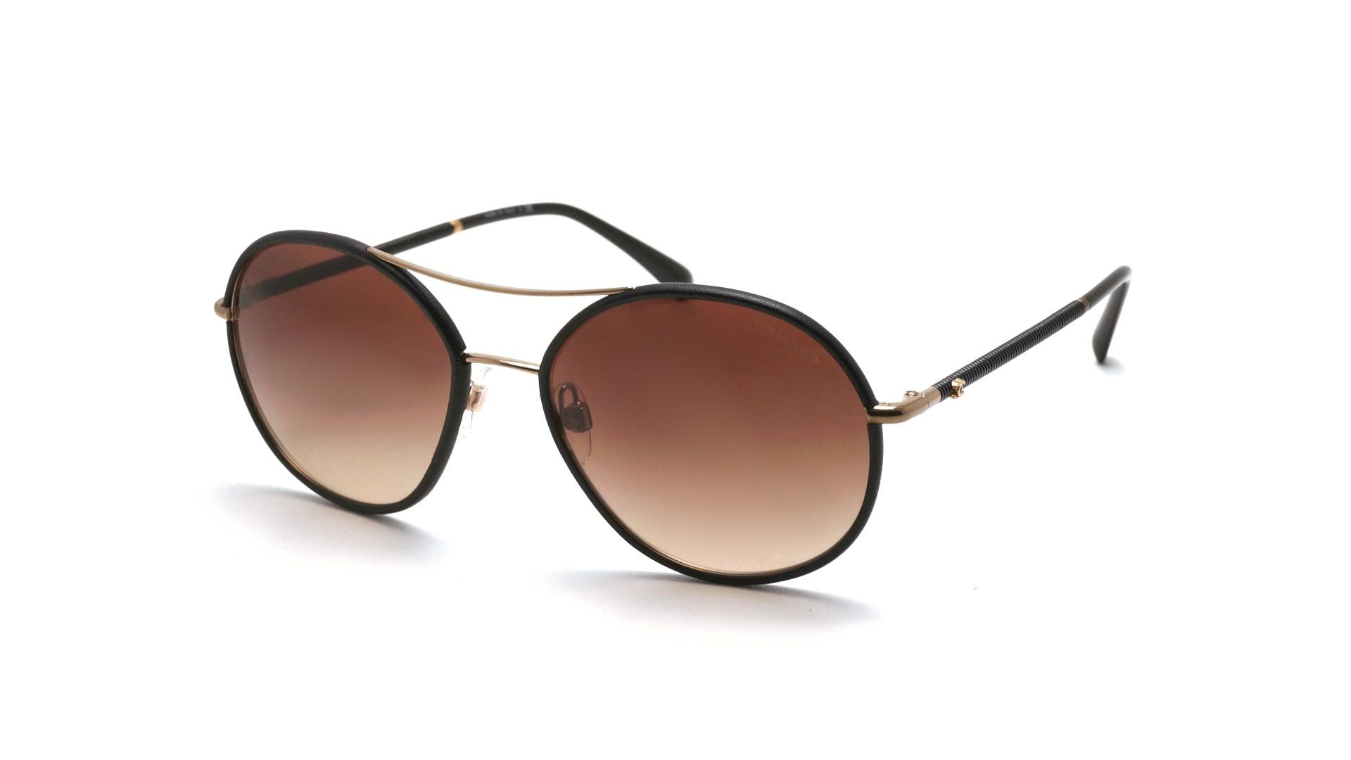 154aea881e871 Sunglasses Chanel CH4228Q C470S5 56-17 Brown Matte Medium Gradient