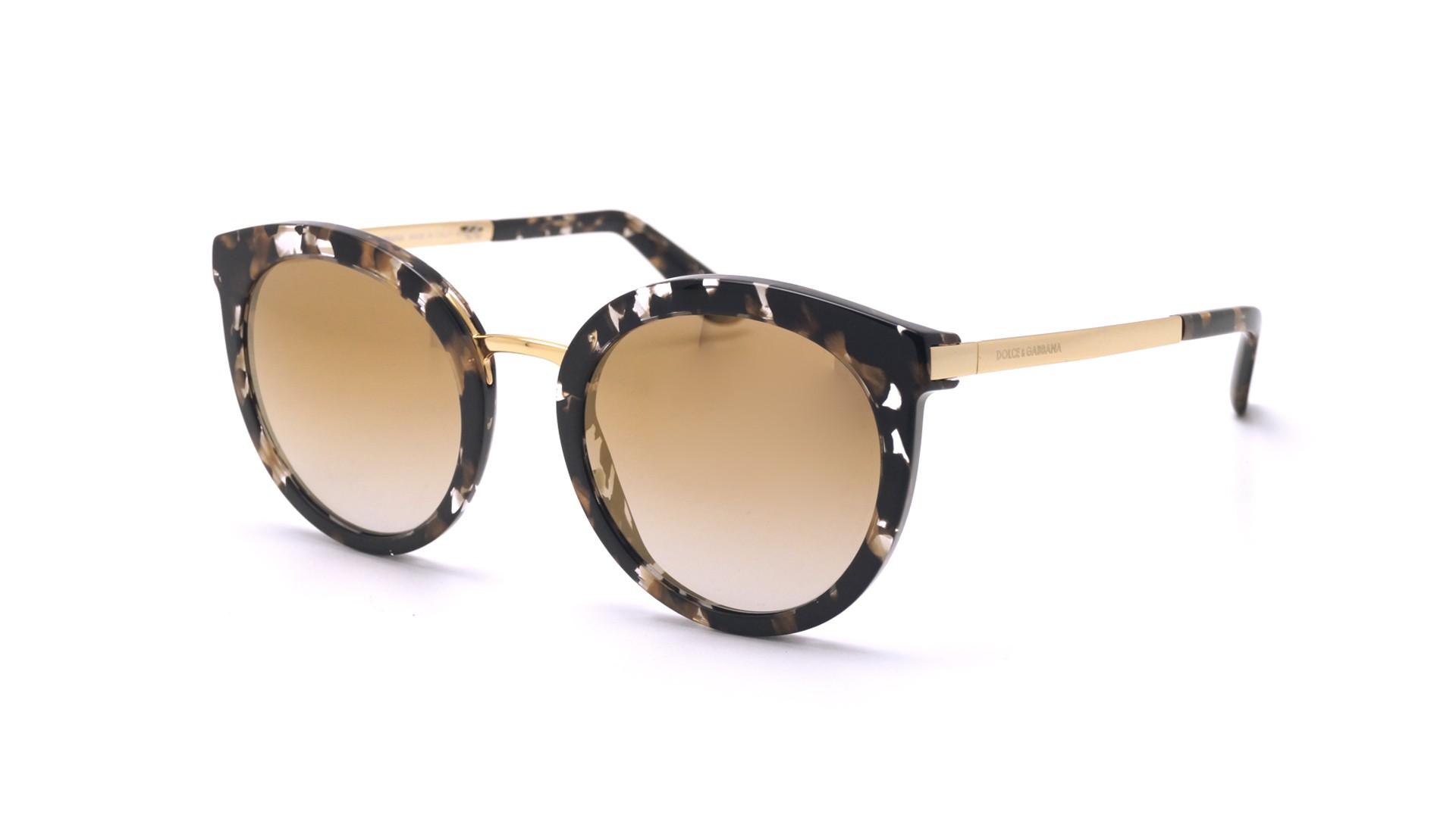 fb5ec68e047 Sunglasses Dolce   Gabbana DG4268 911 6E 52-22 Tortoise Medium Gradient  Mirror