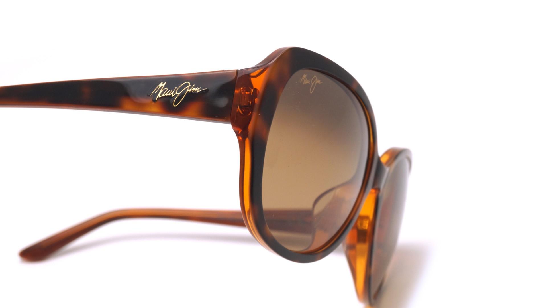 0c3c789df3 Sunglasses Maui Jim Swept away Tortoise HCL Bronze HS733 10N 56-18 Medium  Polarized Gradient