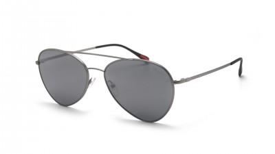 2a61fcb800 Prada Linea Rossa PS50SS 7CQ5L0 60-17 Silver Mat ...