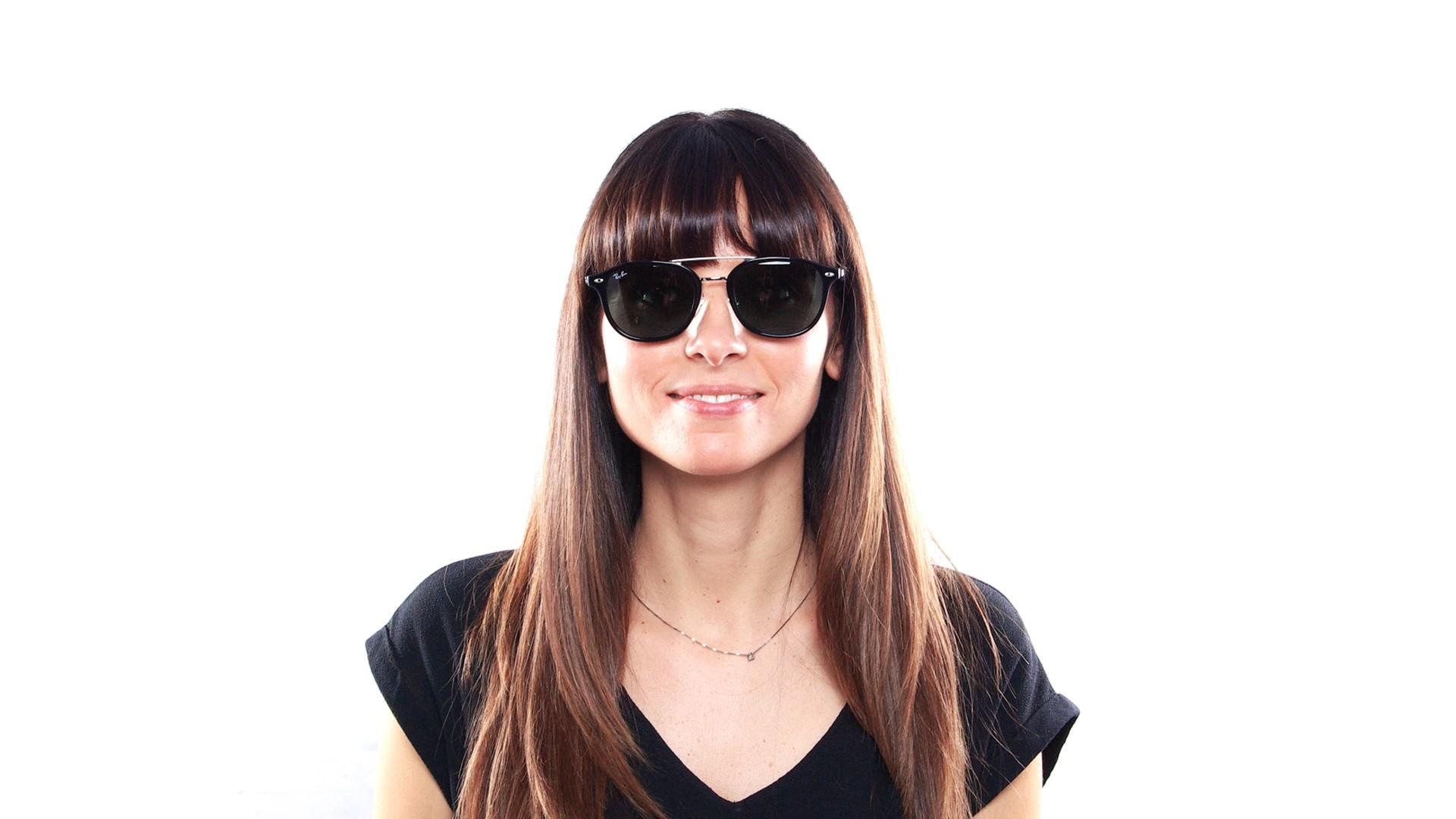 22a019303f0eb Sunglasses Ray-Ban Highstreet Black RB2183 901 71 53-21 Medium
