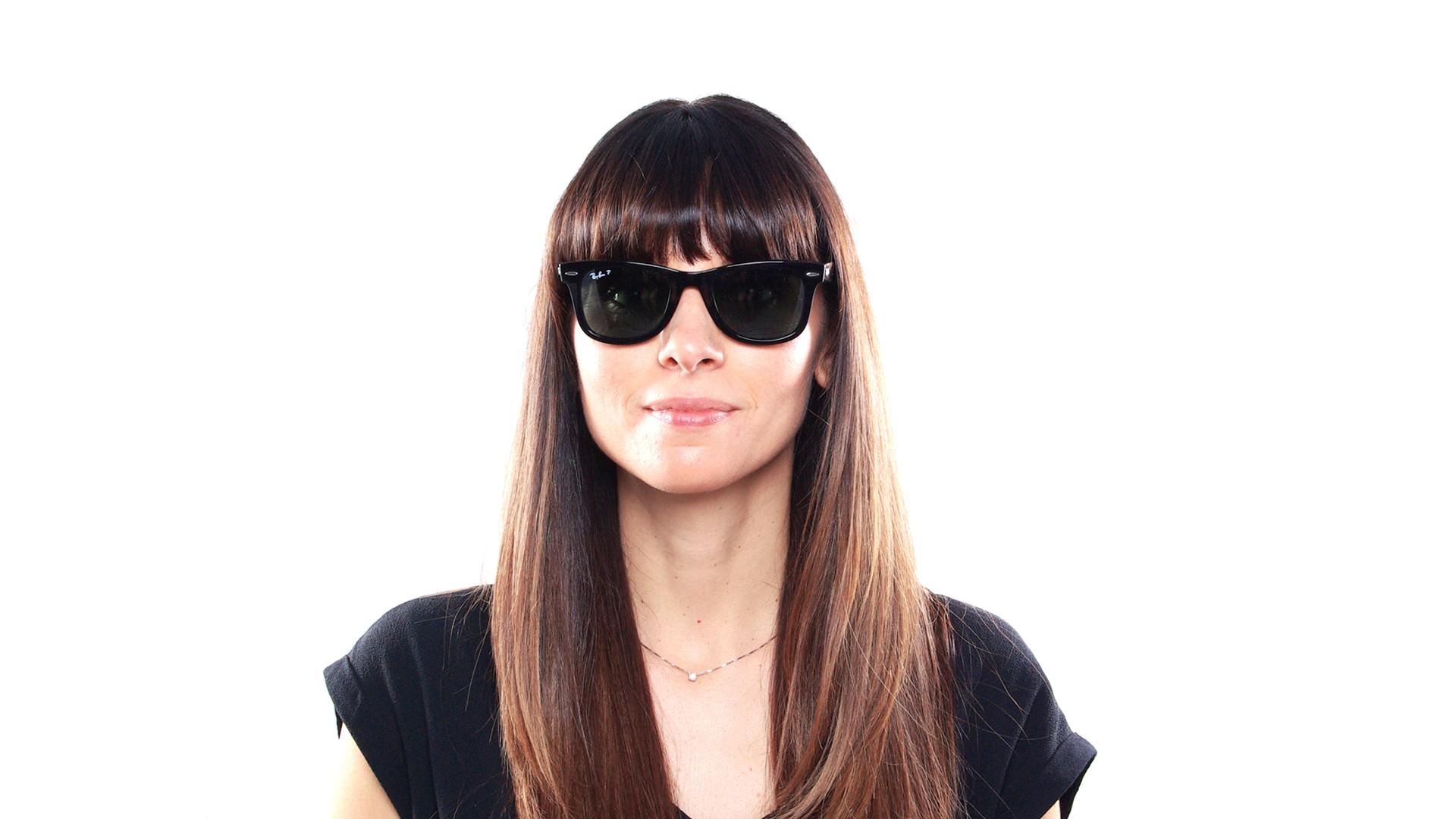 996a09cc89 Sunglasses Ray-Ban Wayfarer Ease Black RB4340 601 58 50-22 Medium Polarized