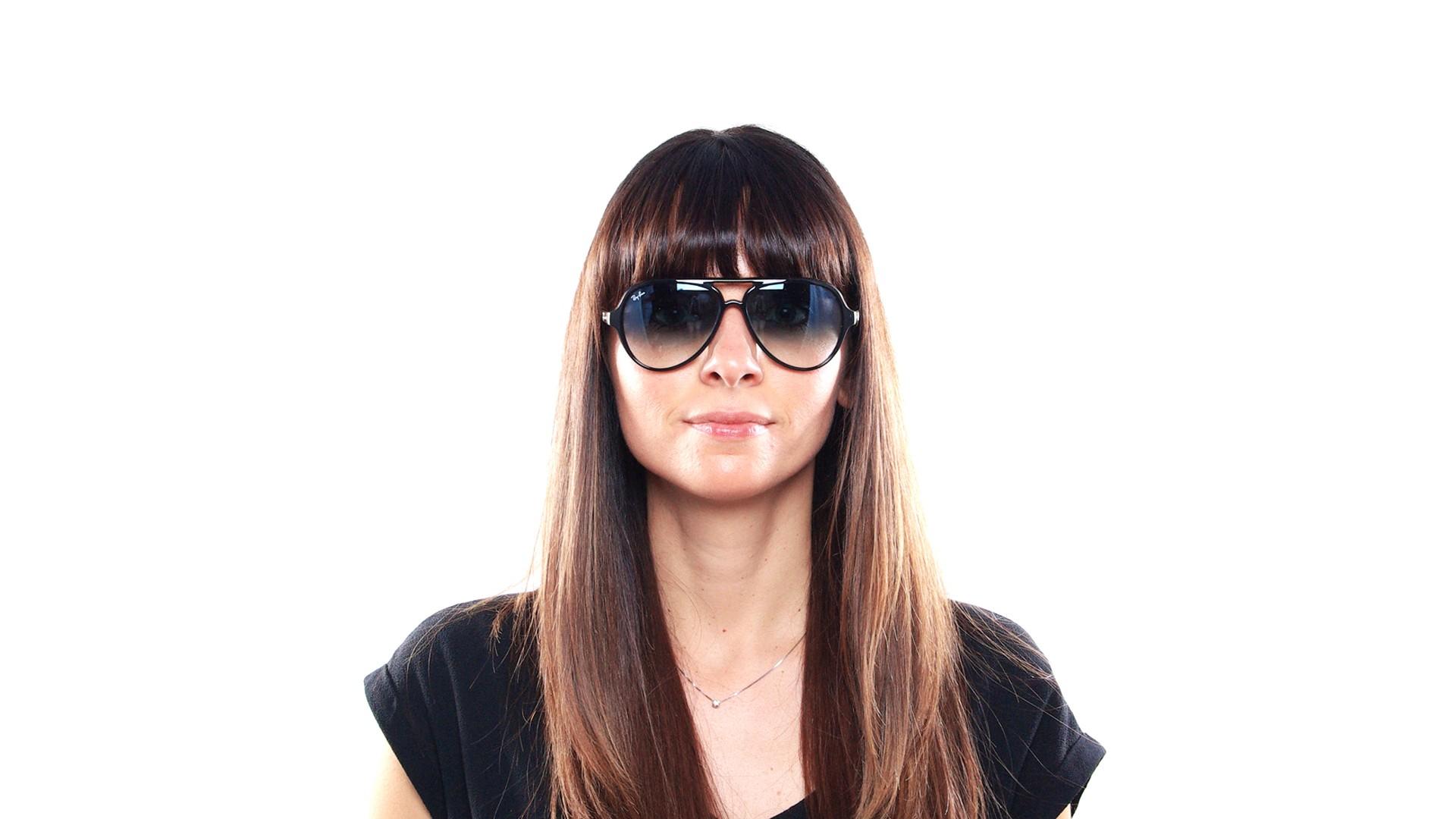 2c70e39d8cd ... france sunglasses ray ban cats 5000 black rb4125 601 3f 59 13 large  gradient 2aa58 f6212