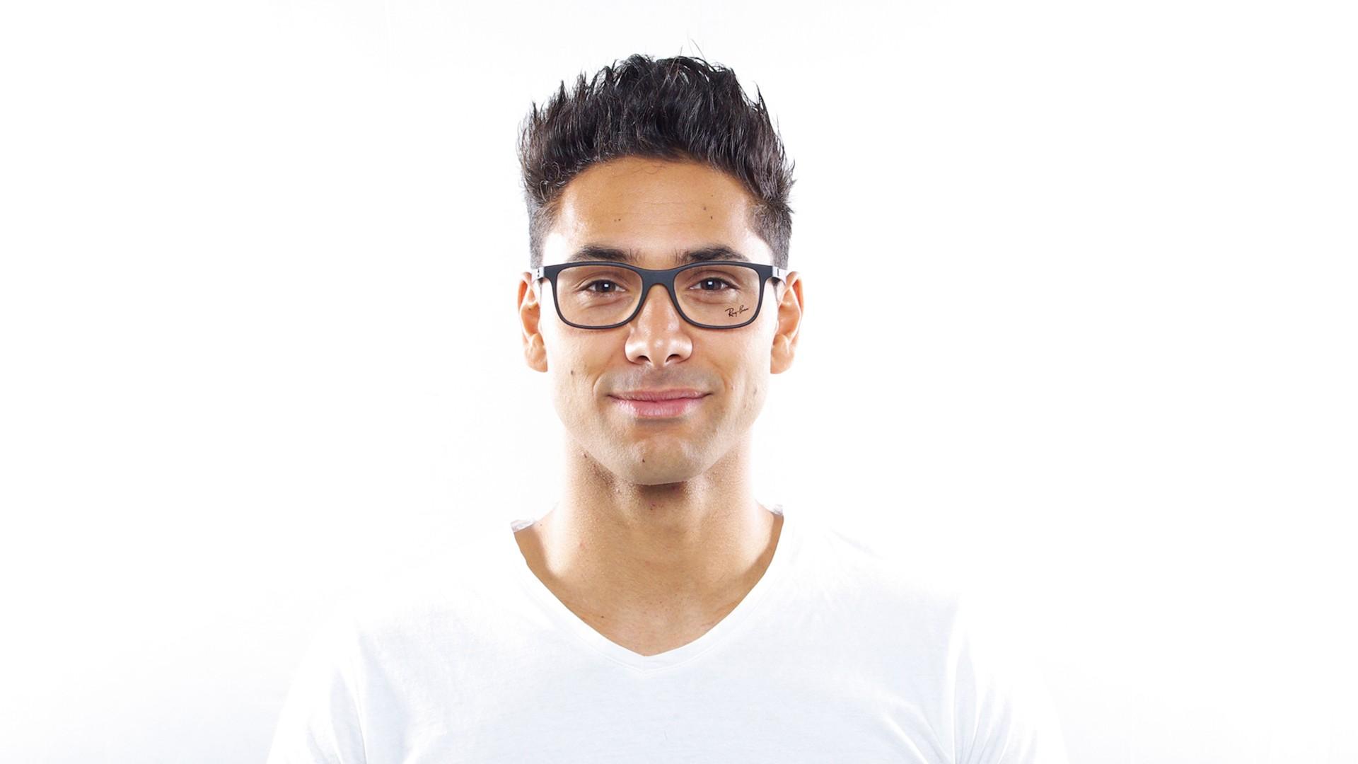 6aaeb9f481 Eyeglasses Ray-Ban RX8903 RB8903 5263 53-18 Black Matte Medium