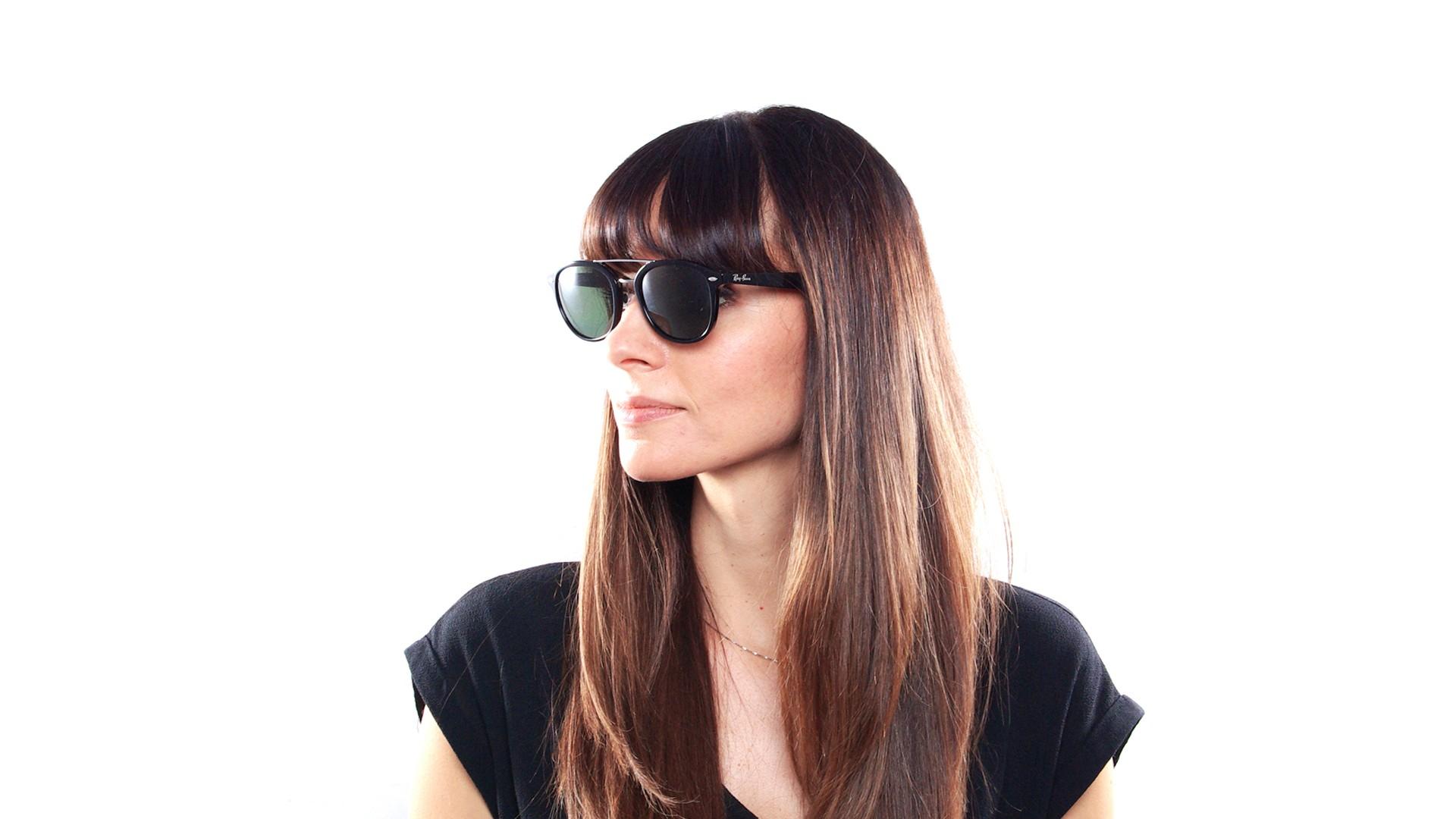 006423490d Sunglasses Ray-Ban Highstreet Black RB2183 901 9A 53-21 Medium Polarized
